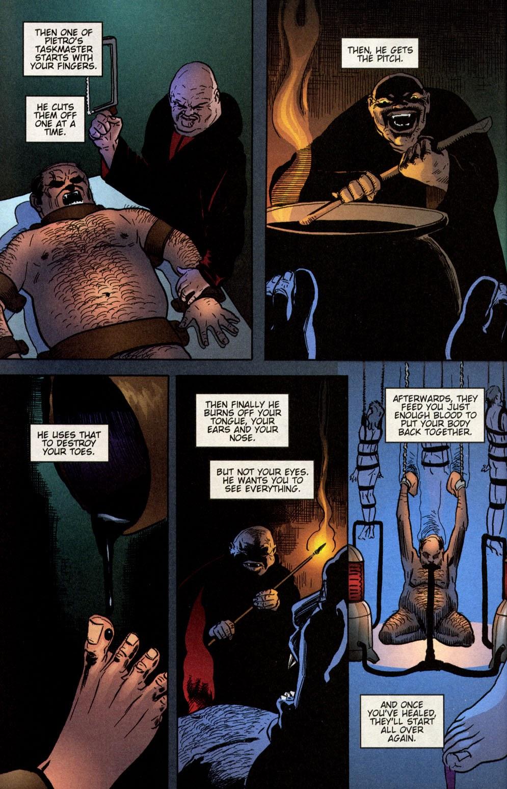 Read online Vampire the Masquerade comic -  Issue # Giovanni - 43