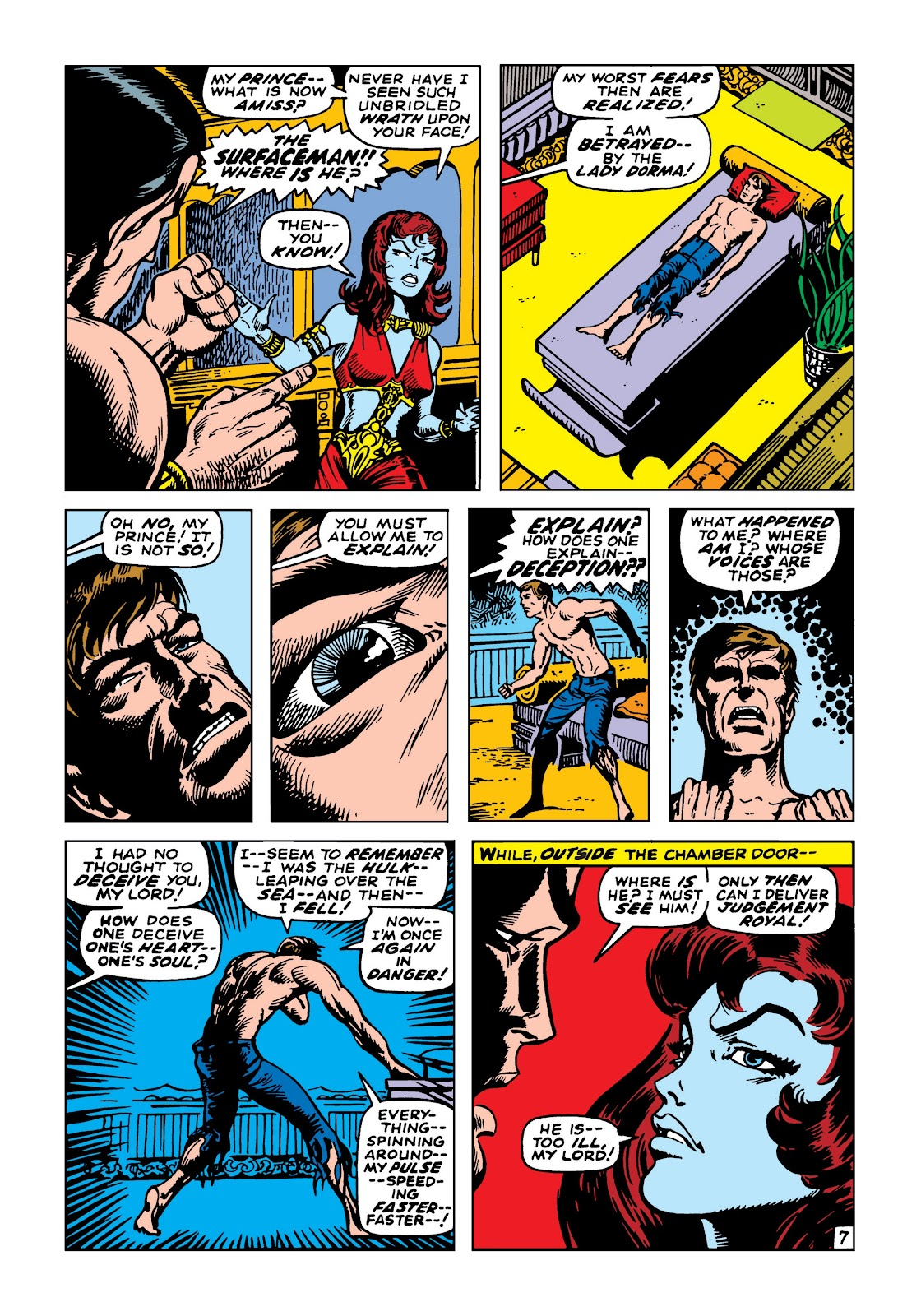 Read online Marvel Masterworks: The Incredible Hulk comic -  Issue # TPB 5 (Part 2) - 60