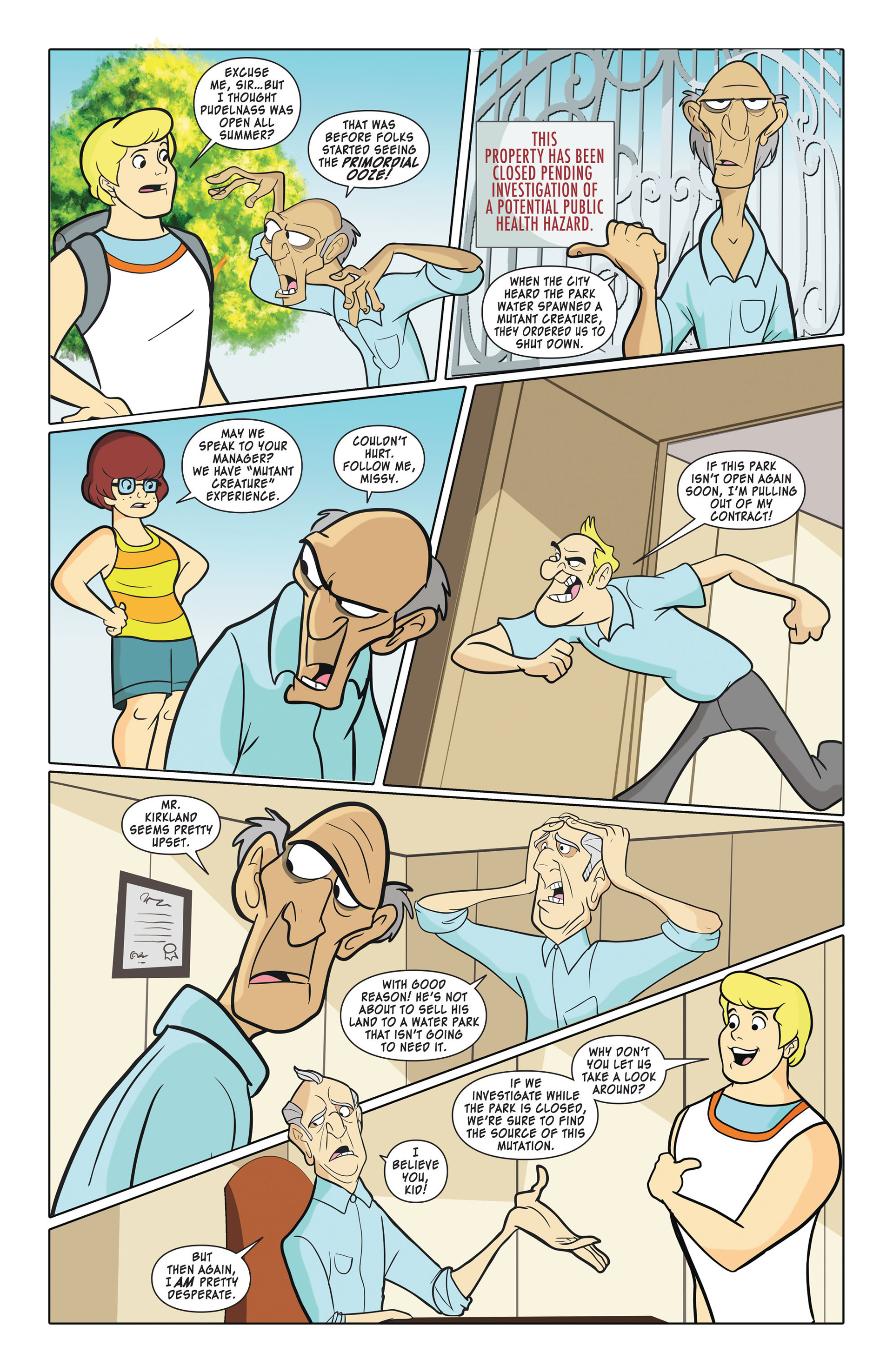 Read online Scooby-Doo: Where Are You? comic -  Issue #45 - 3