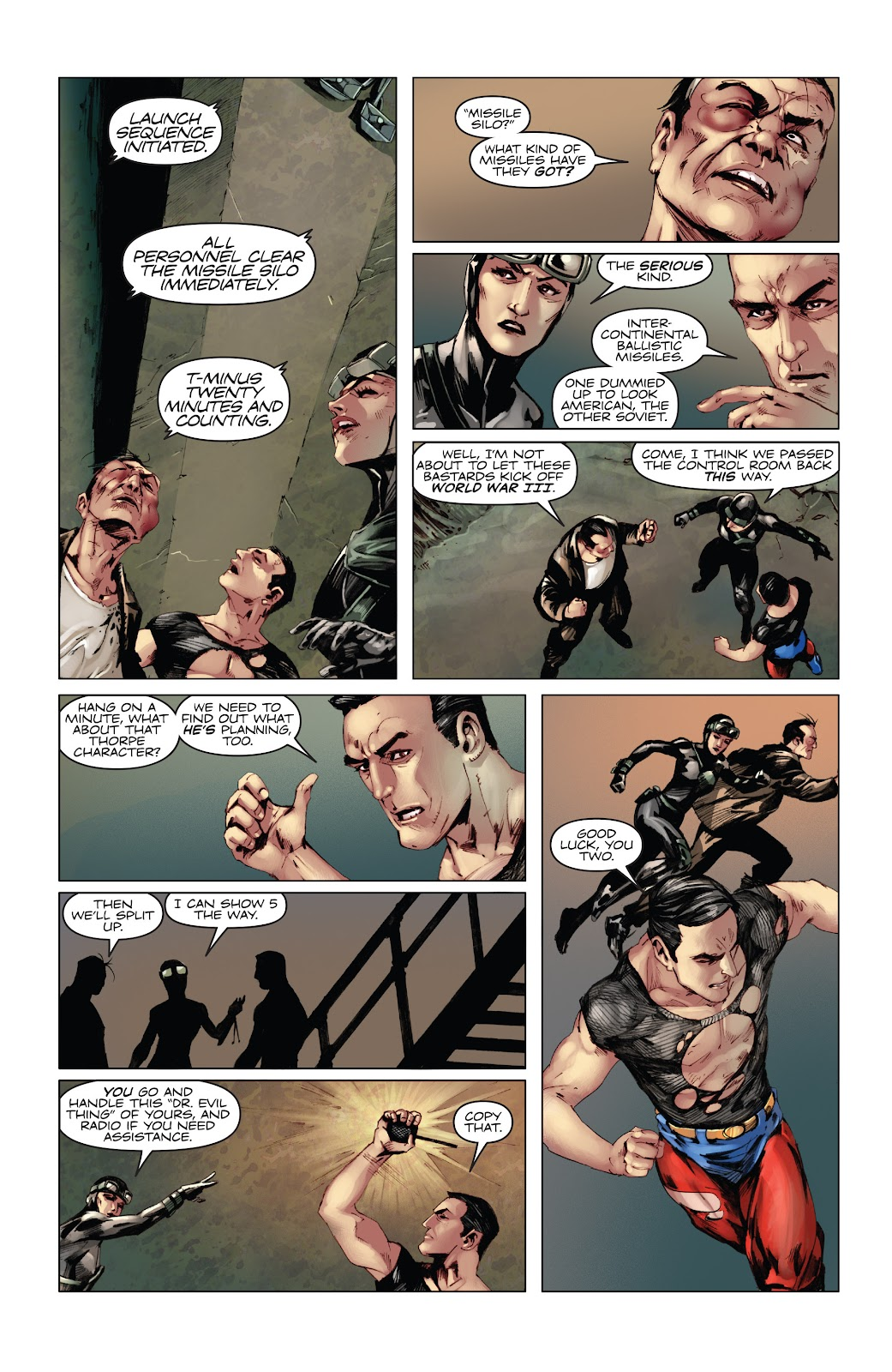 Read online Codename: Action comic -  Issue #5 - 11