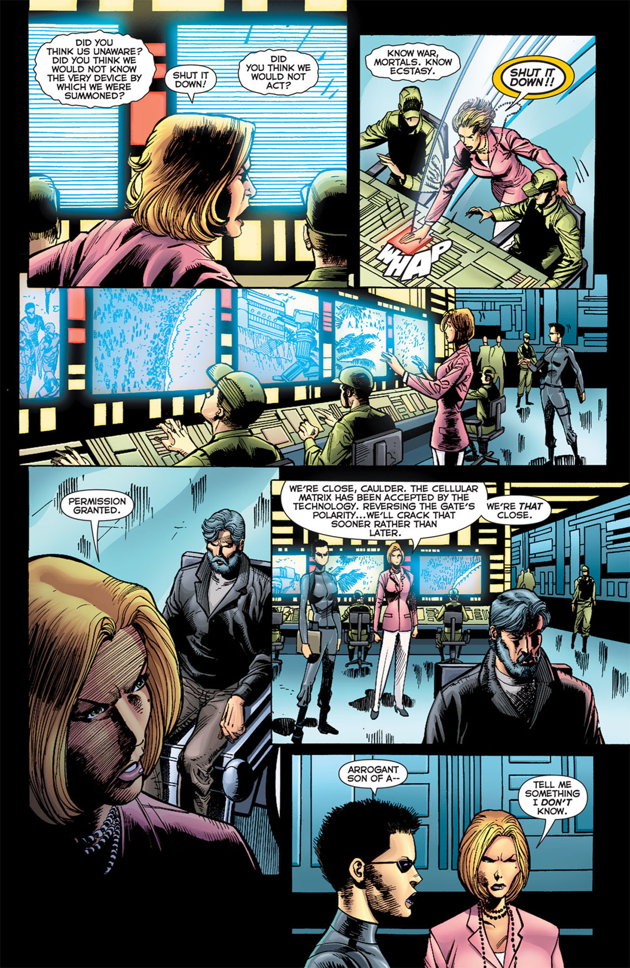 Read online 52 Aftermath: The Four Horsemen comic -  Issue #5 - 6