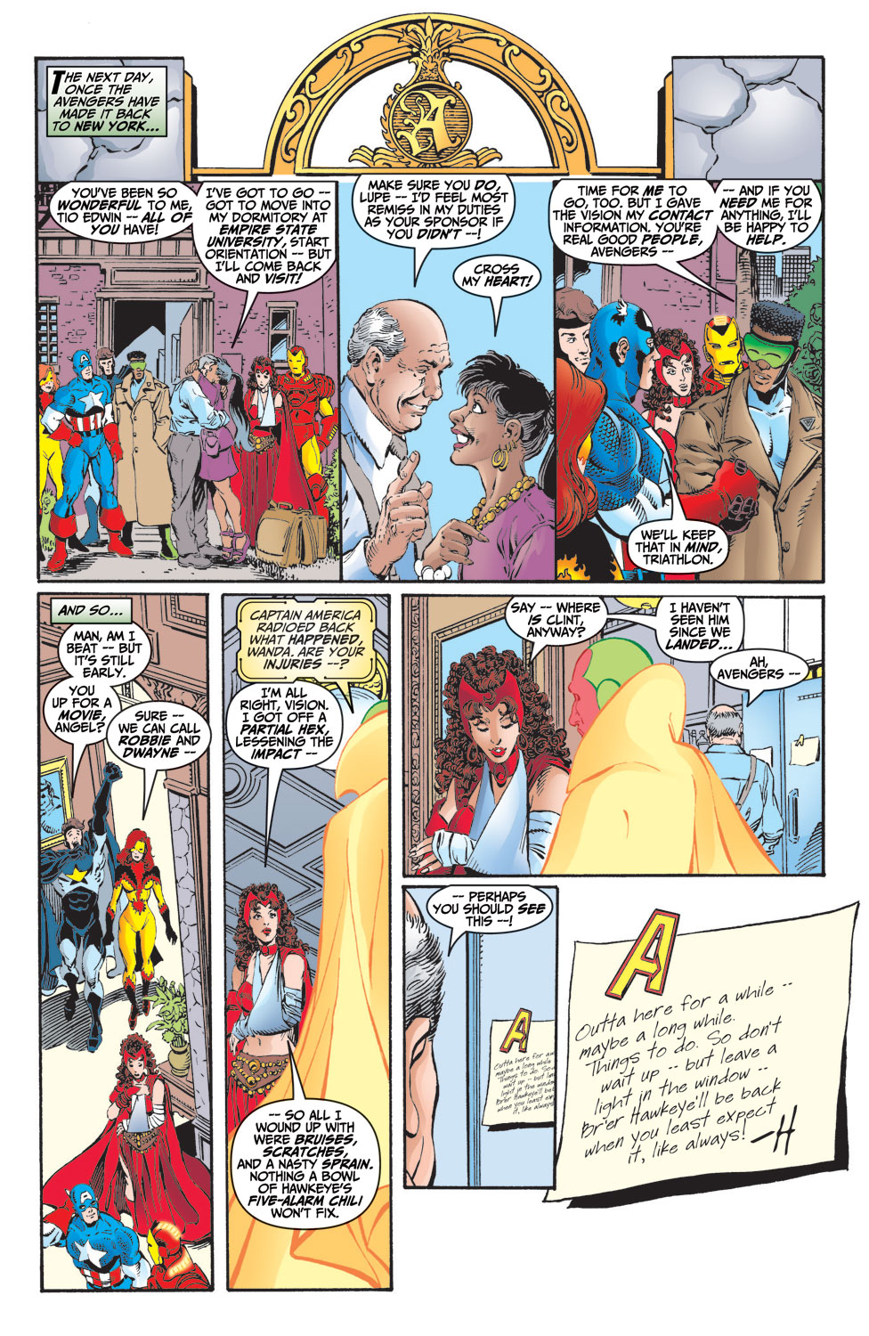 Read online Avengers (1998) comic -  Issue #9 - 22