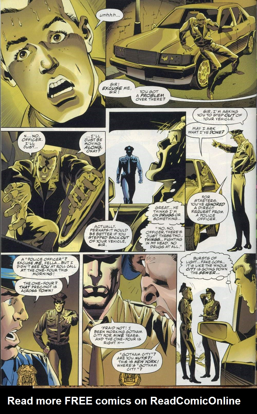 Read online DC Versus Marvel Comics comic -  Issue #2 - 4