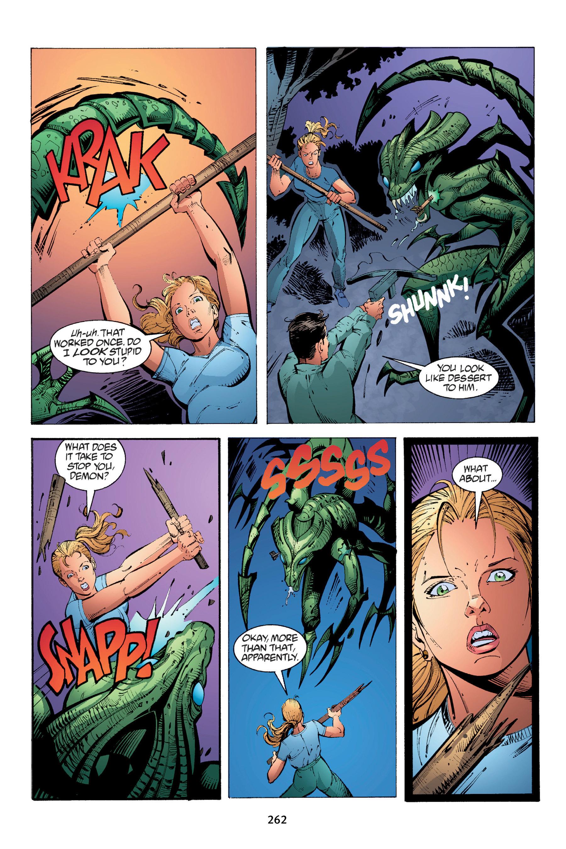 Read online Buffy the Vampire Slayer: Omnibus comic -  Issue # TPB 4 - 260