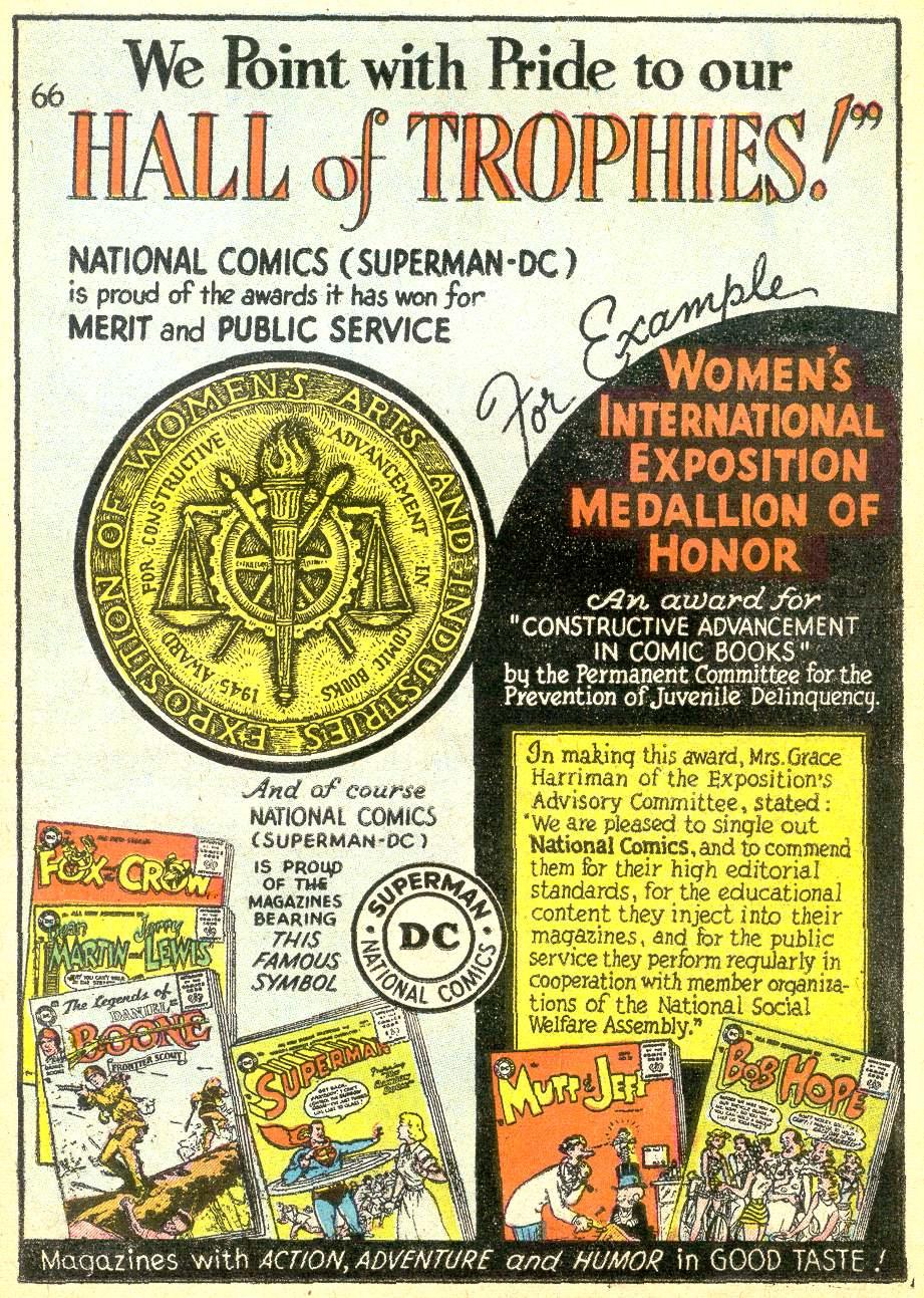 Read online Adventure Comics (1938) comic -  Issue #218 - 23