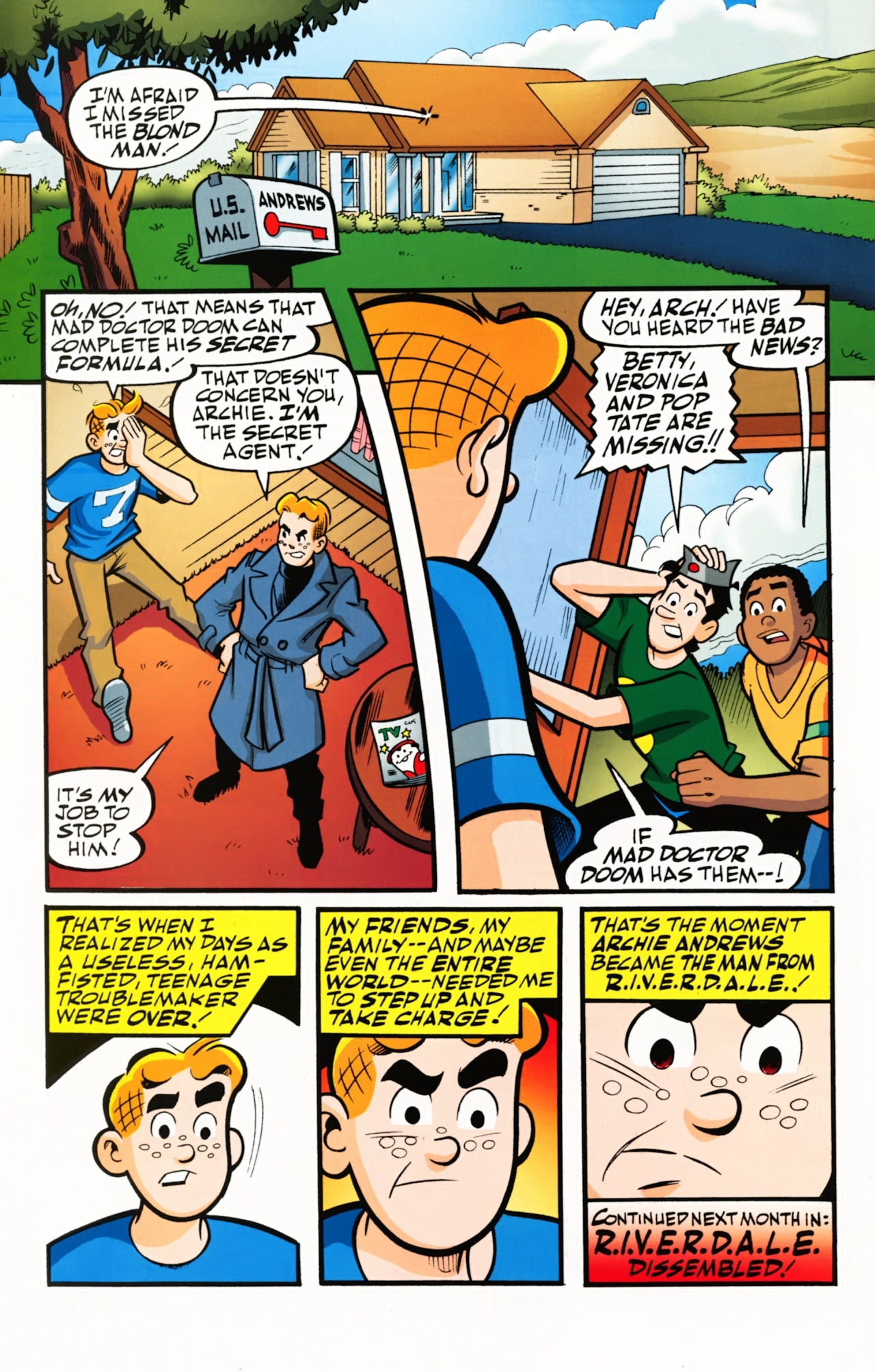 Read online Archie (1960) comic -  Issue #610 - 31
