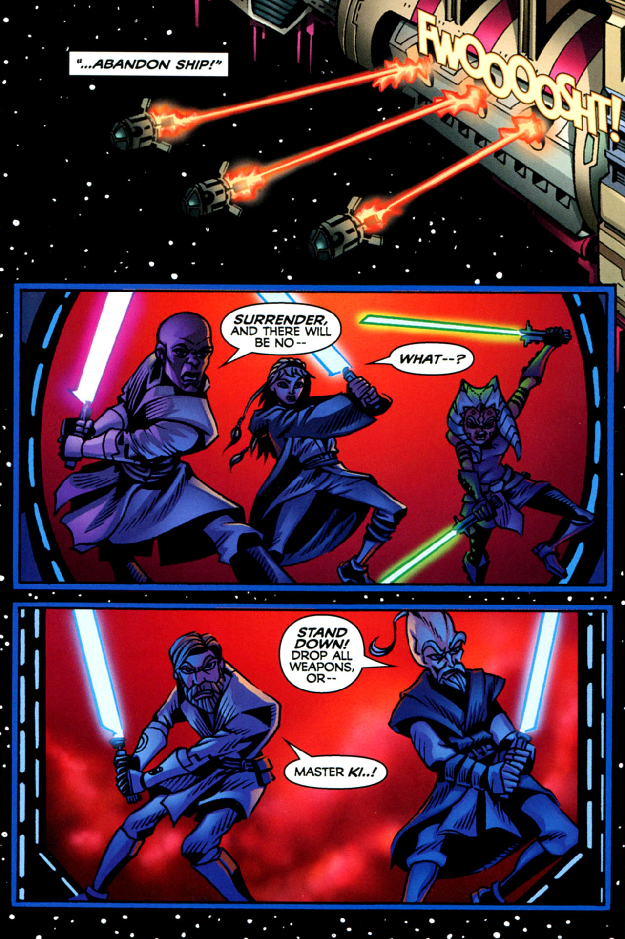 Read online Star Wars: The Clone Wars - The Starcrusher Trap comic -  Issue # Full - 37