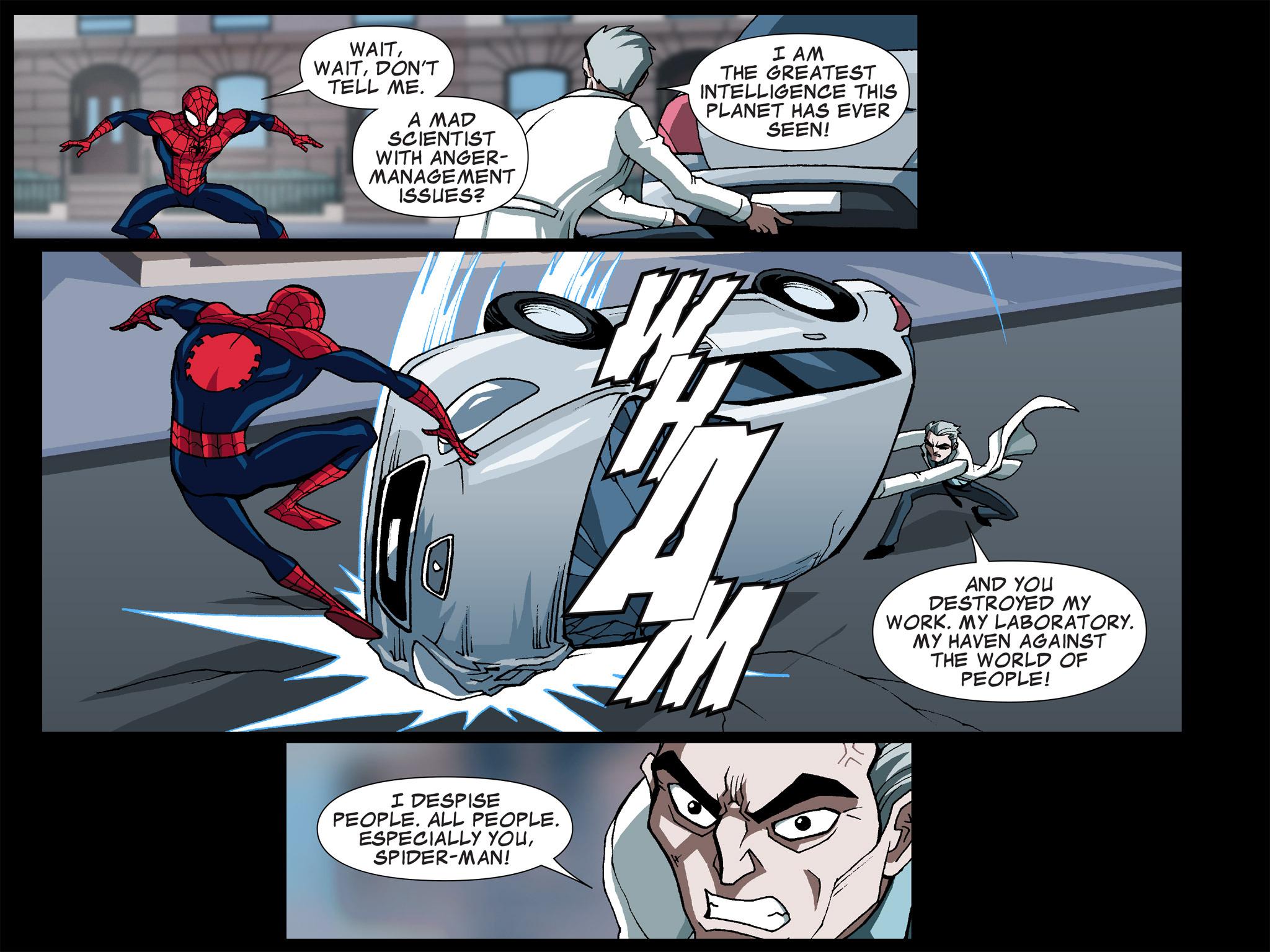 Read online Ultimate Spider-Man (Infinite Comics) (2015) comic -  Issue #5 - 23