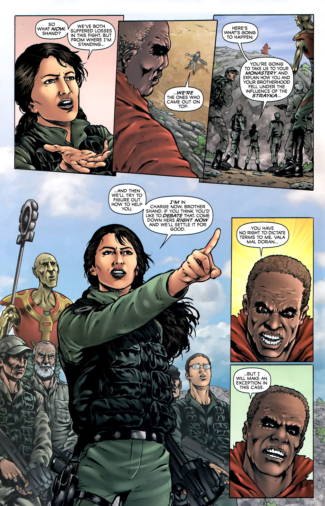Read online Stargate Vala Mal Doran comic -  Issue #4 - 9
