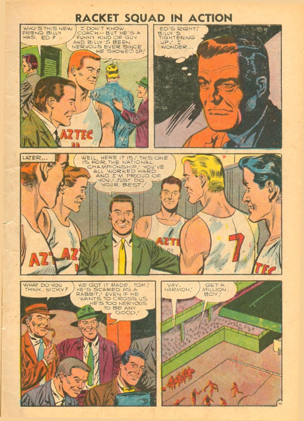 Read online Racket Squad in Action comic -  Issue #24 - 7
