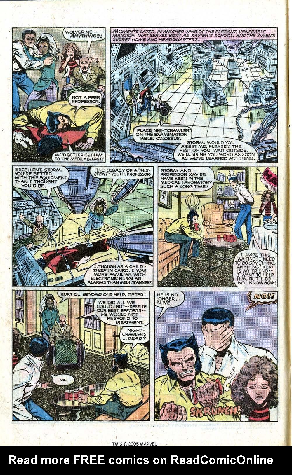 Read online Uncanny X-Men (1963) comic -  Issue # _Annual 4 - 8