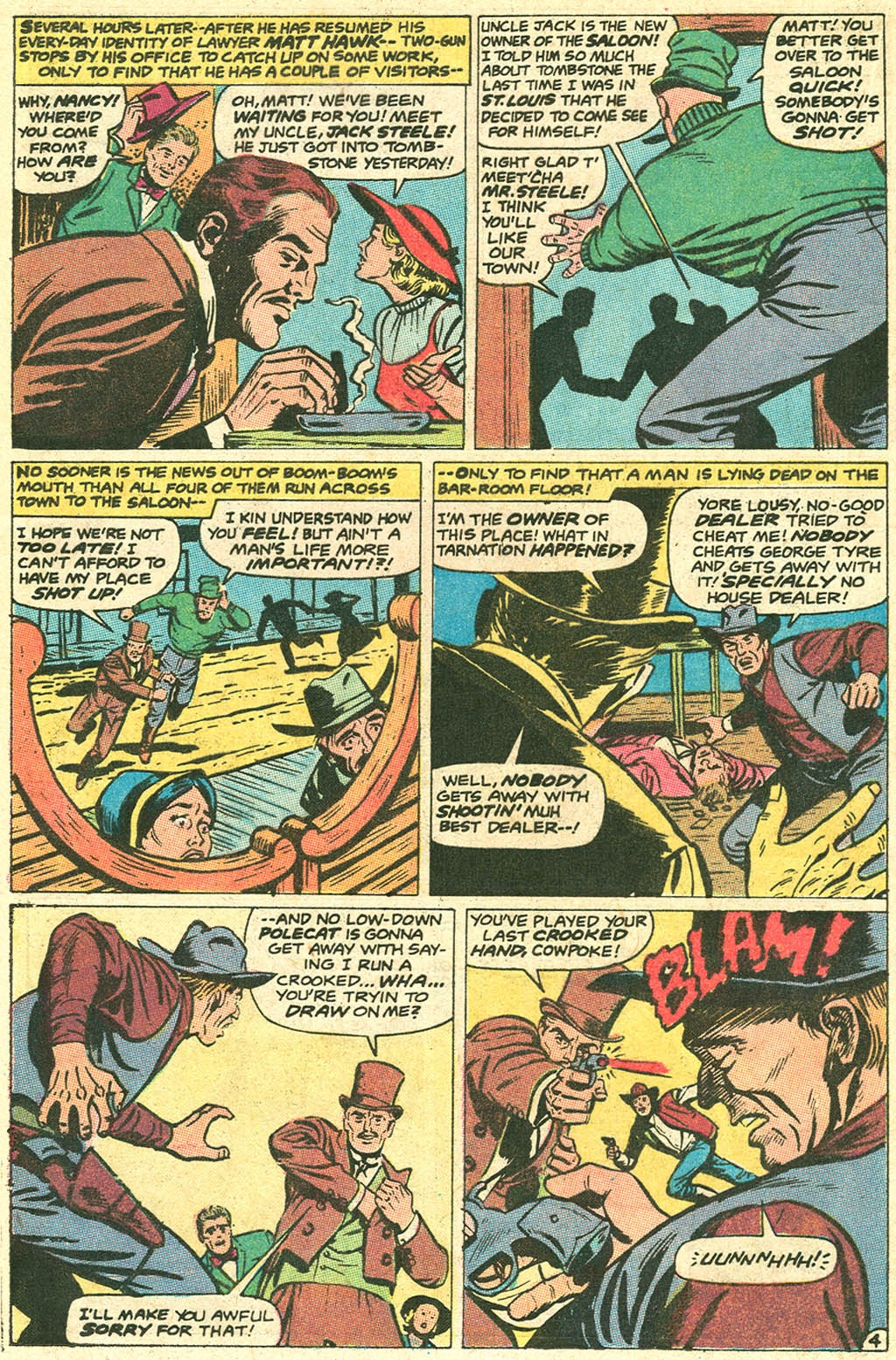 Kid Colt Outlaw issue 141 - Page 20