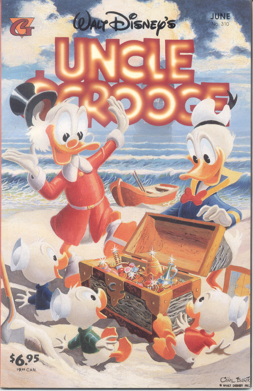 Read online Uncle Scrooge (1953) comic -  Issue #310 - 1