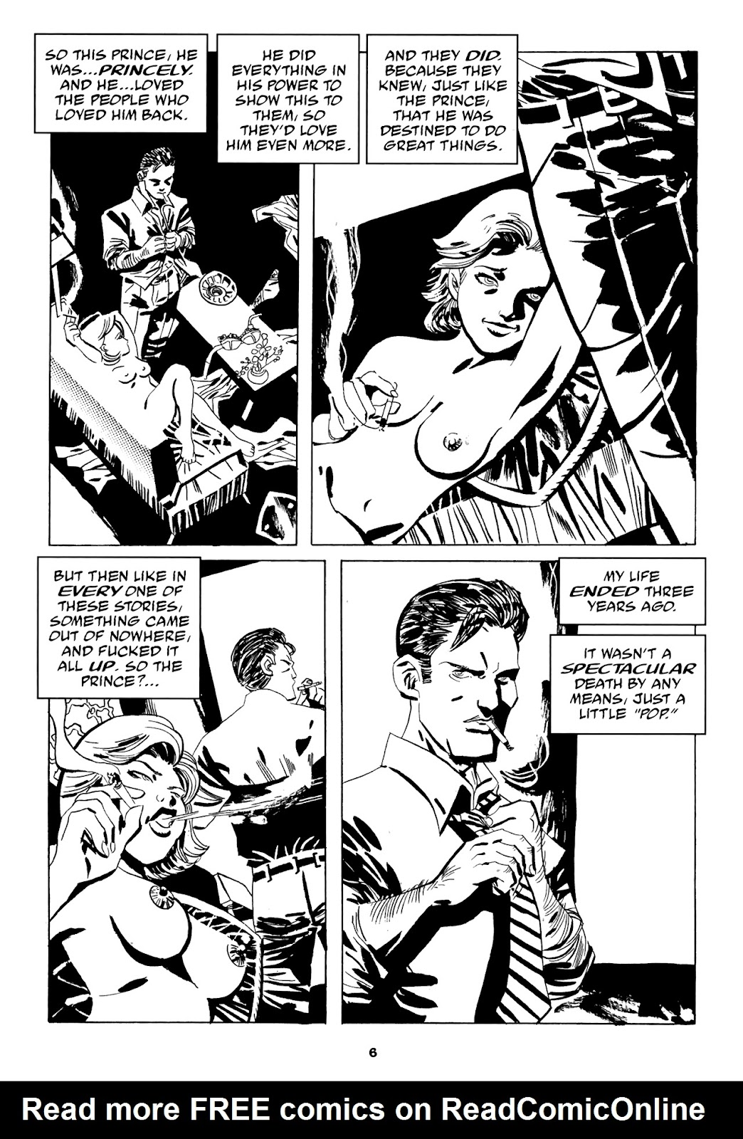 Read online Filthy Rich comic -  Issue # TPB (Part 1) - 8