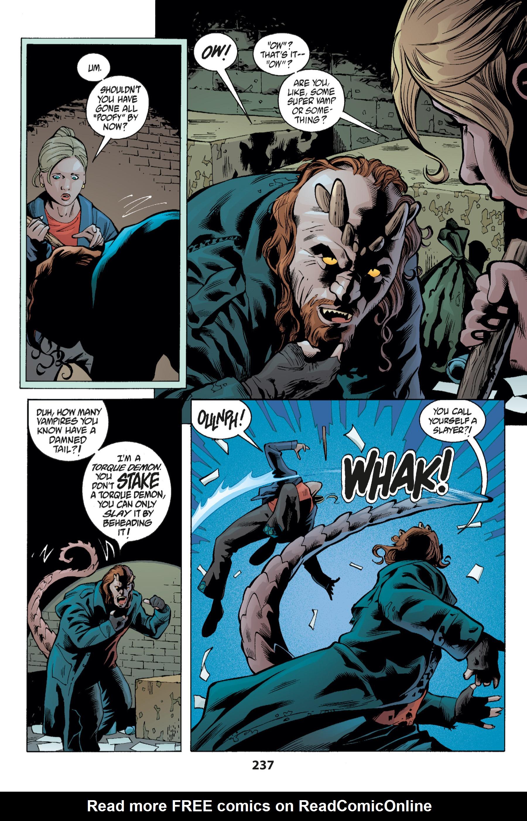 Read online Buffy the Vampire Slayer: Omnibus comic -  Issue # TPB 1 - 232