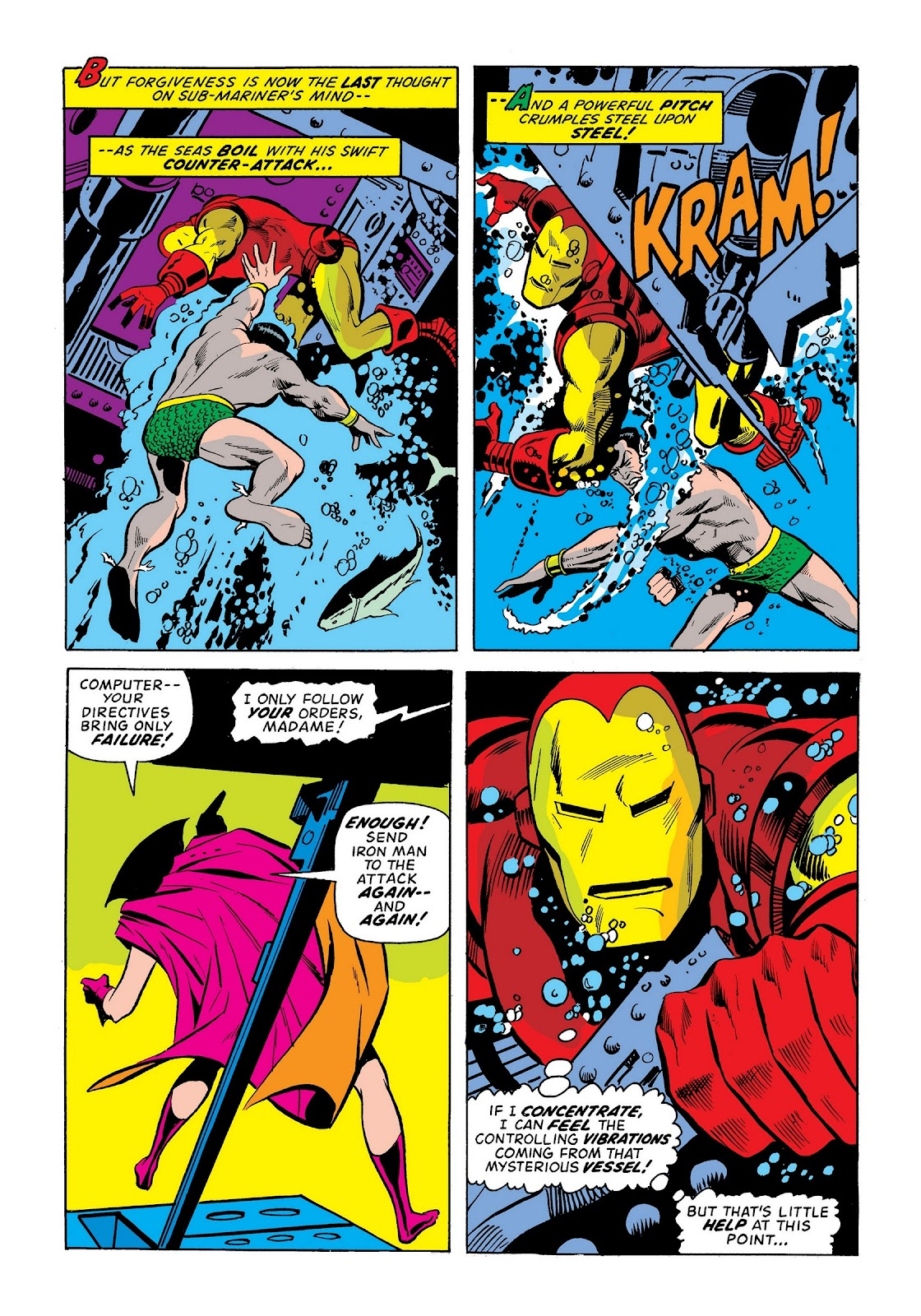 Read online Marvel Masterworks: The Invincible Iron Man comic -  Issue # TPB 9 (Part 1) - 22