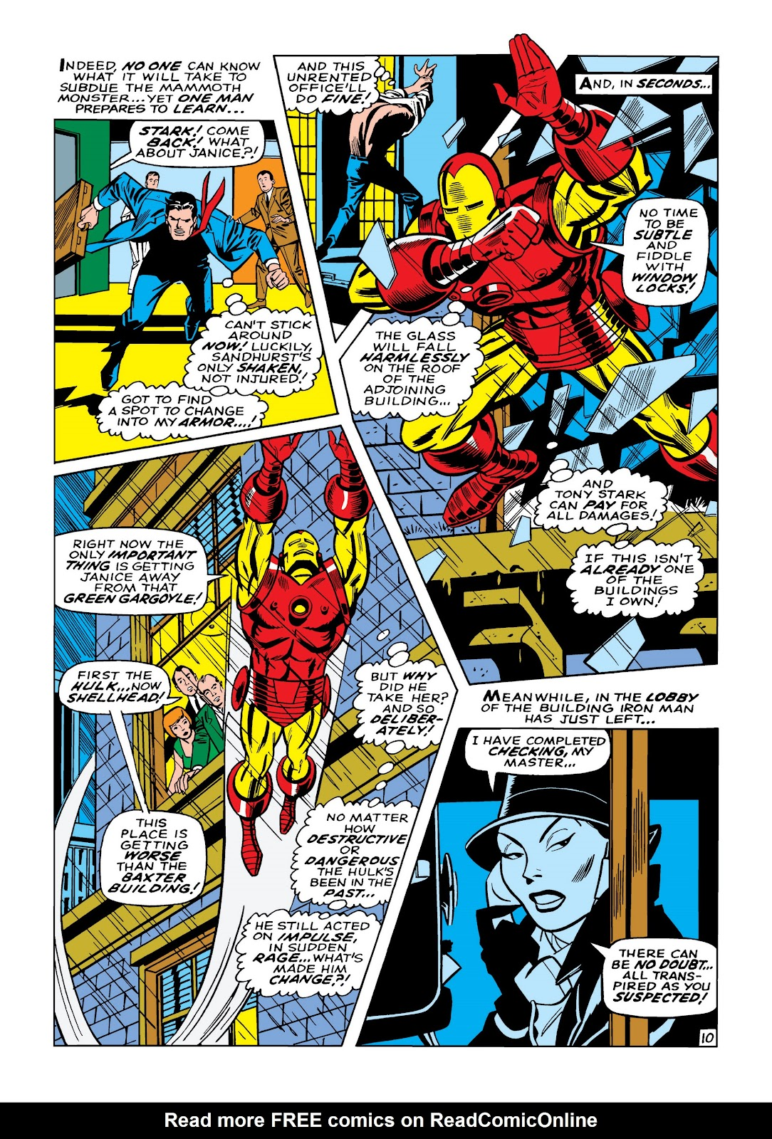 Read online Marvel Masterworks: The Invincible Iron Man comic -  Issue # TPB 5 (Part 2) - 64