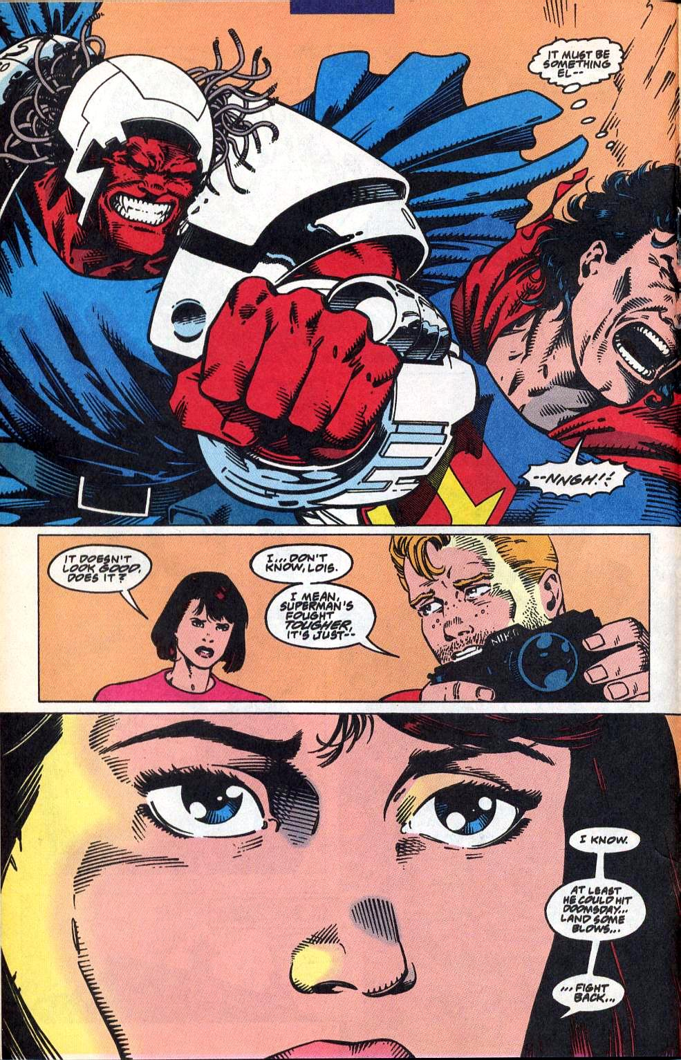 Read online Adventures of Superman (1987) comic -  Issue #515 - 14