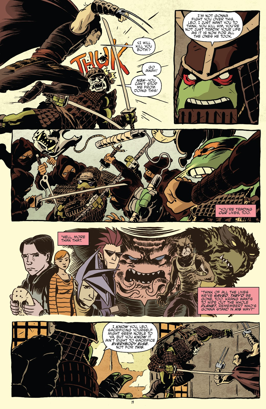 Read online Teenage Mutant Ninja Turtles: The IDW Collection comic -  Issue # TPB 5 (Part 1) - 49