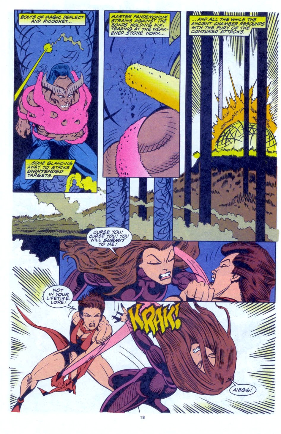 Scarlet Witch (1994) Issue #4 #4 - English 16