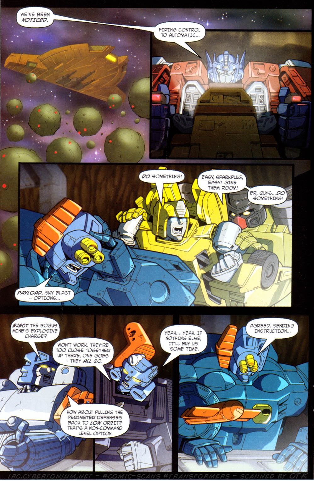Read online Transformers Armada comic -  Issue #11 - 14