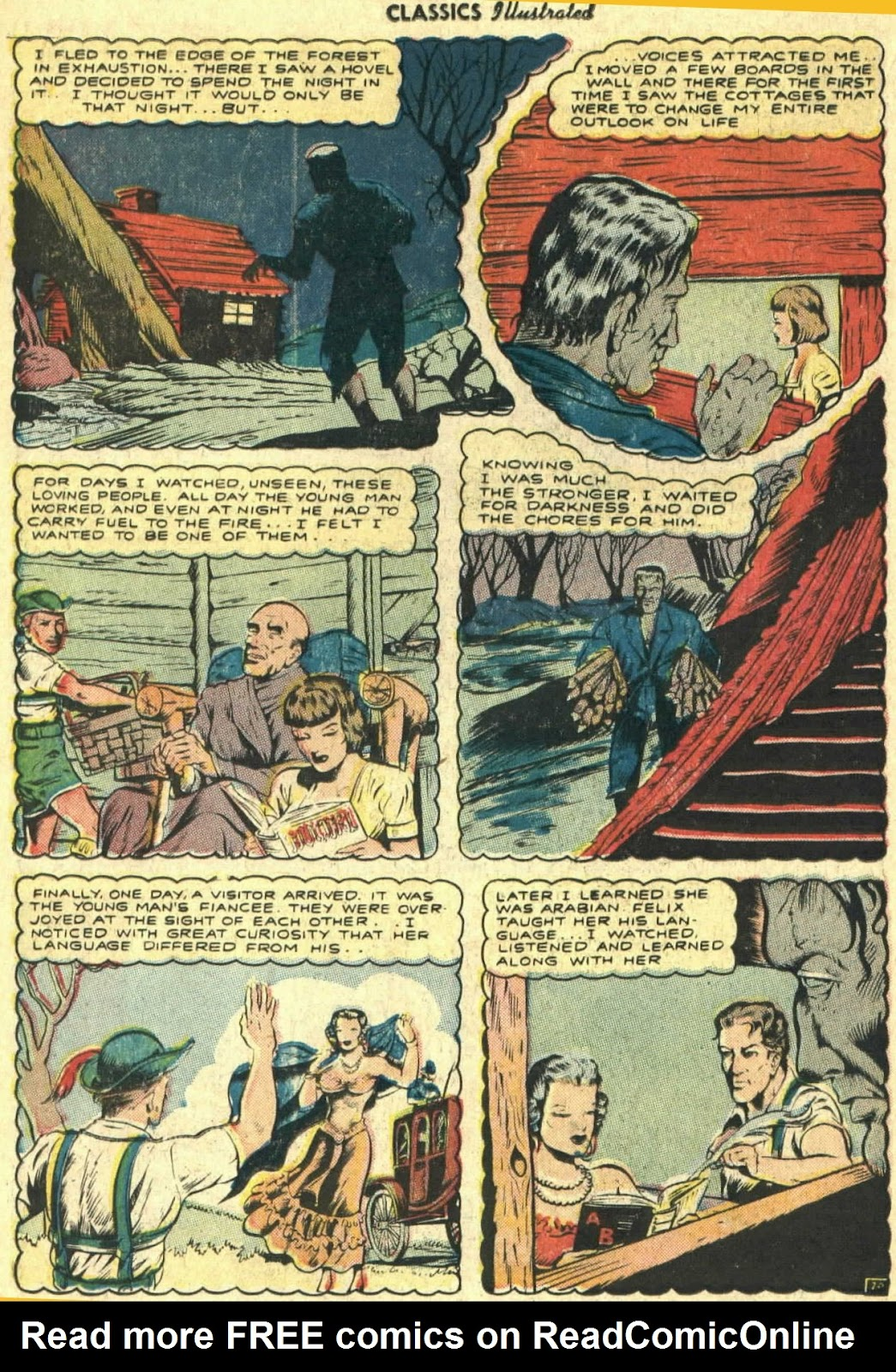 Classics Illustrated issue 26 - Page 22