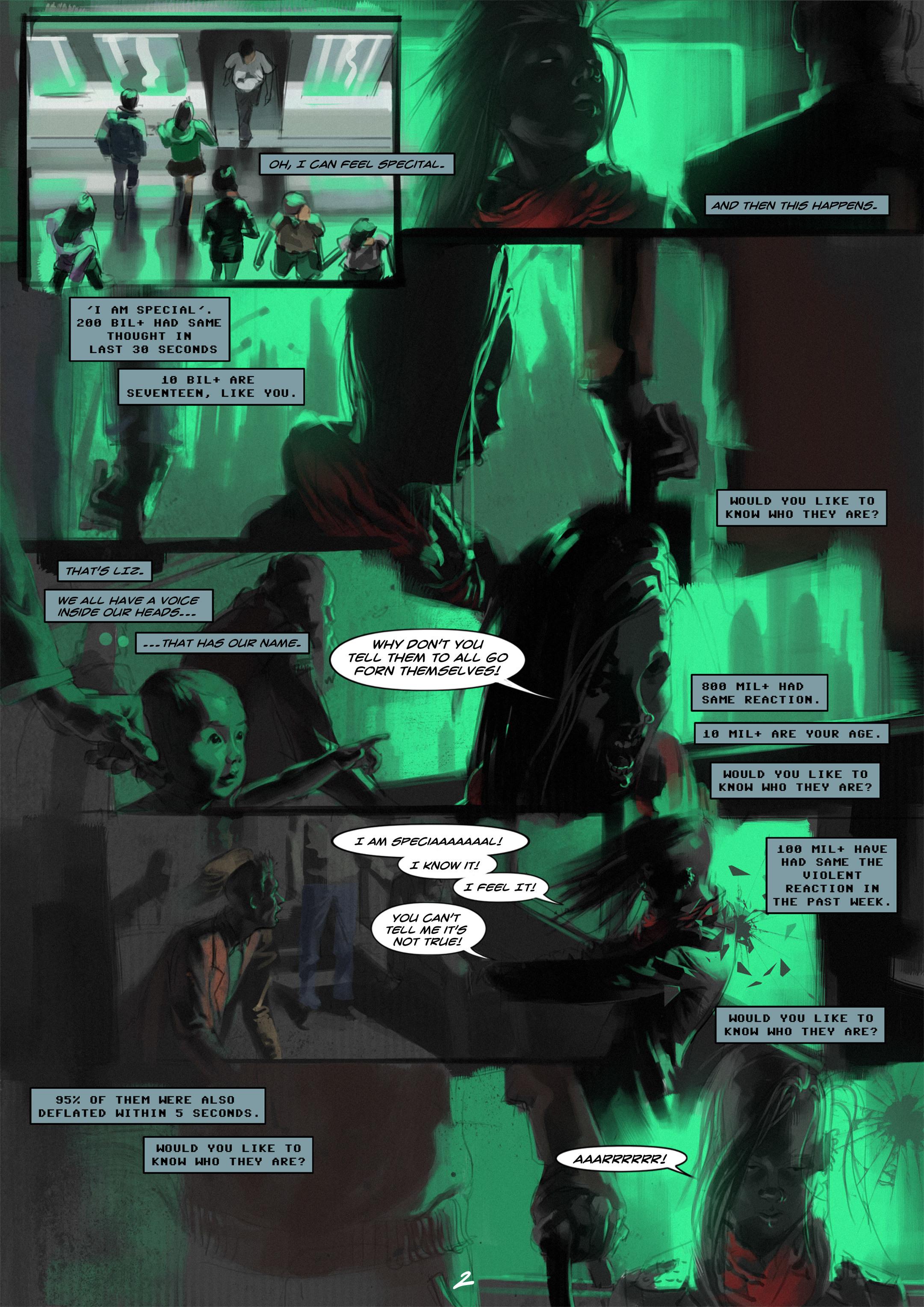 Read online Wynter comic -  Issue #1 - 3