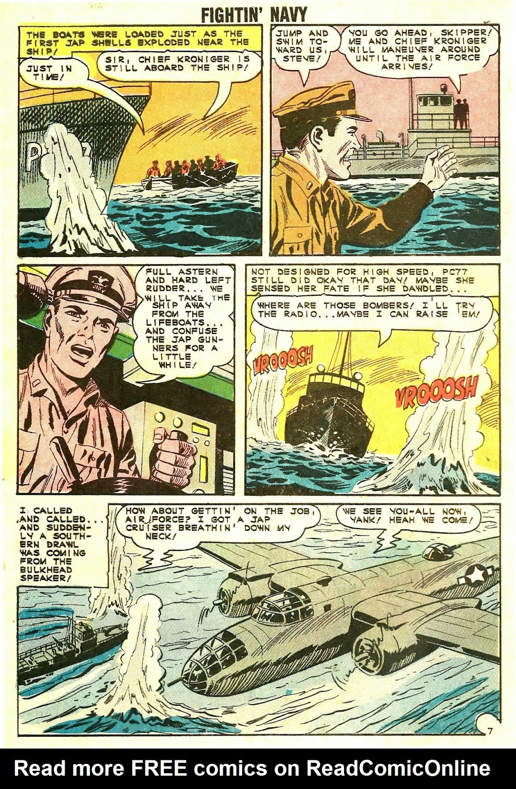Read online Fightin' Navy comic -  Issue #118 - 10