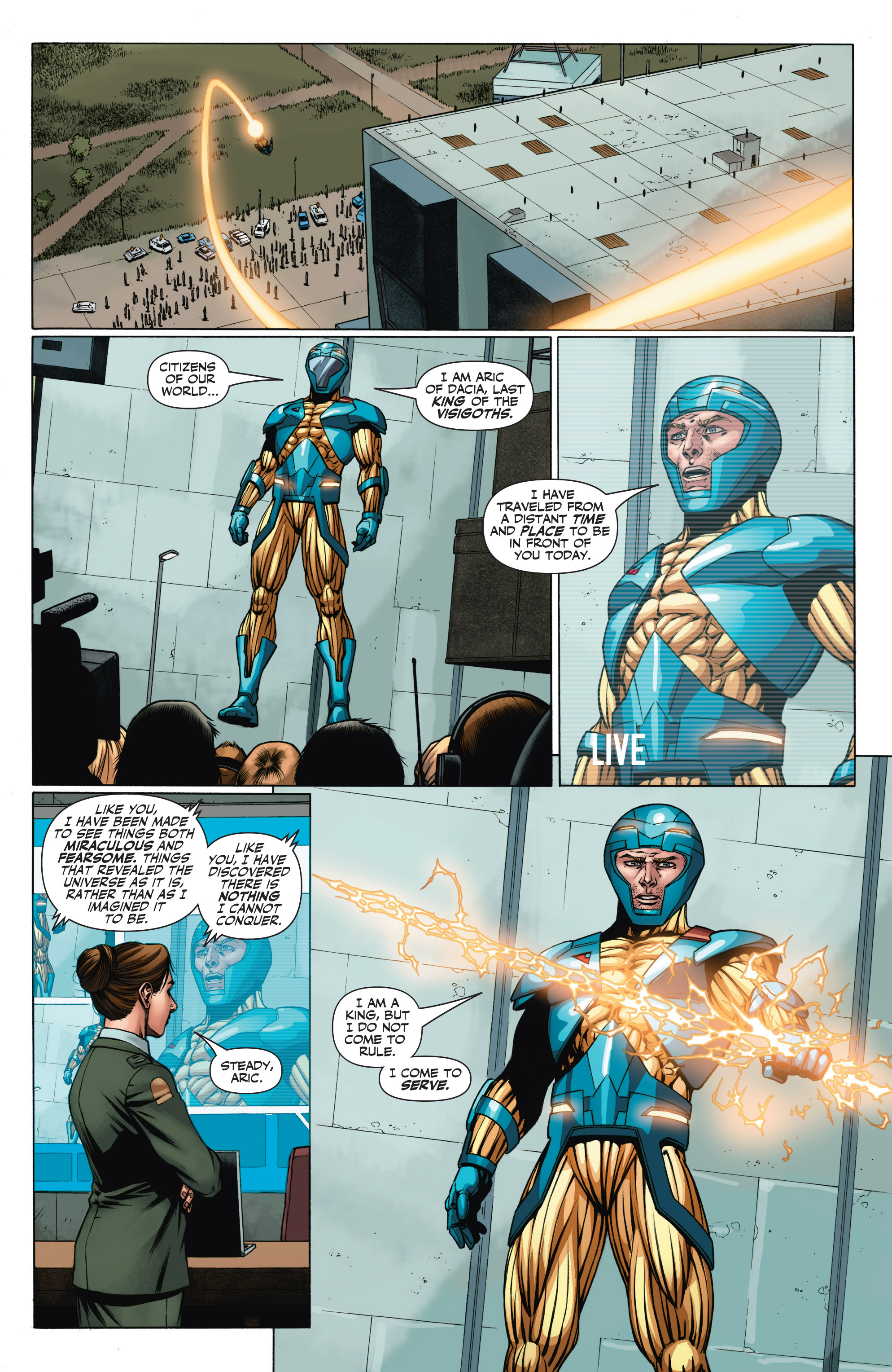Read online Armor Hunters: Aftermath comic -  Issue # Full - 20