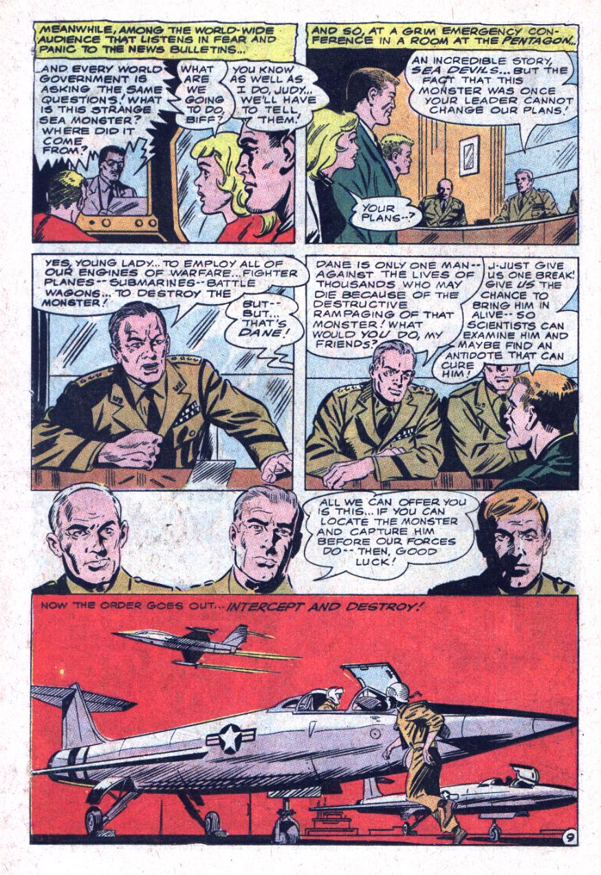 Read online Sea Devils comic -  Issue #35 - 13