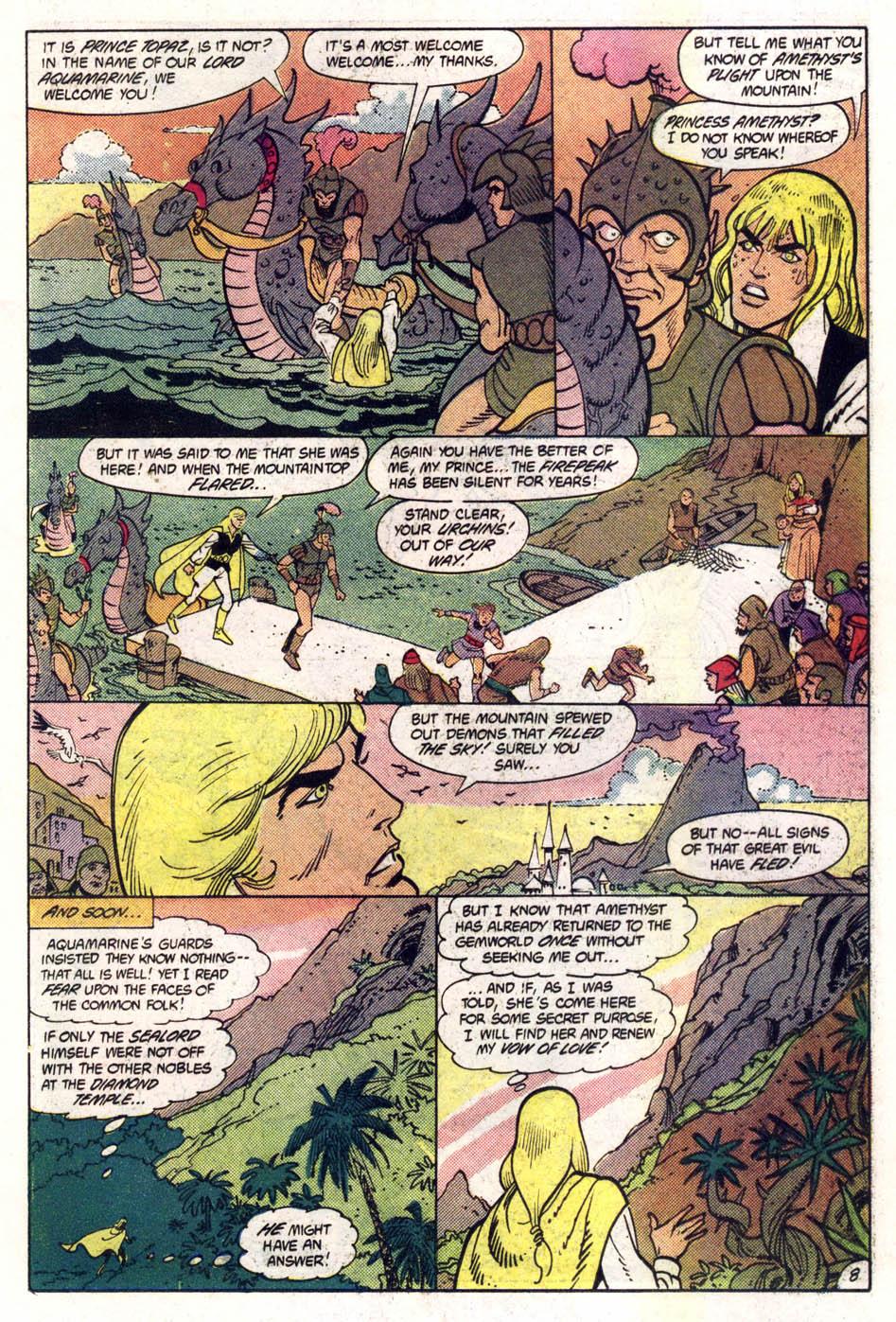 Read online Amethyst (1985) comic -  Issue #1 - 9