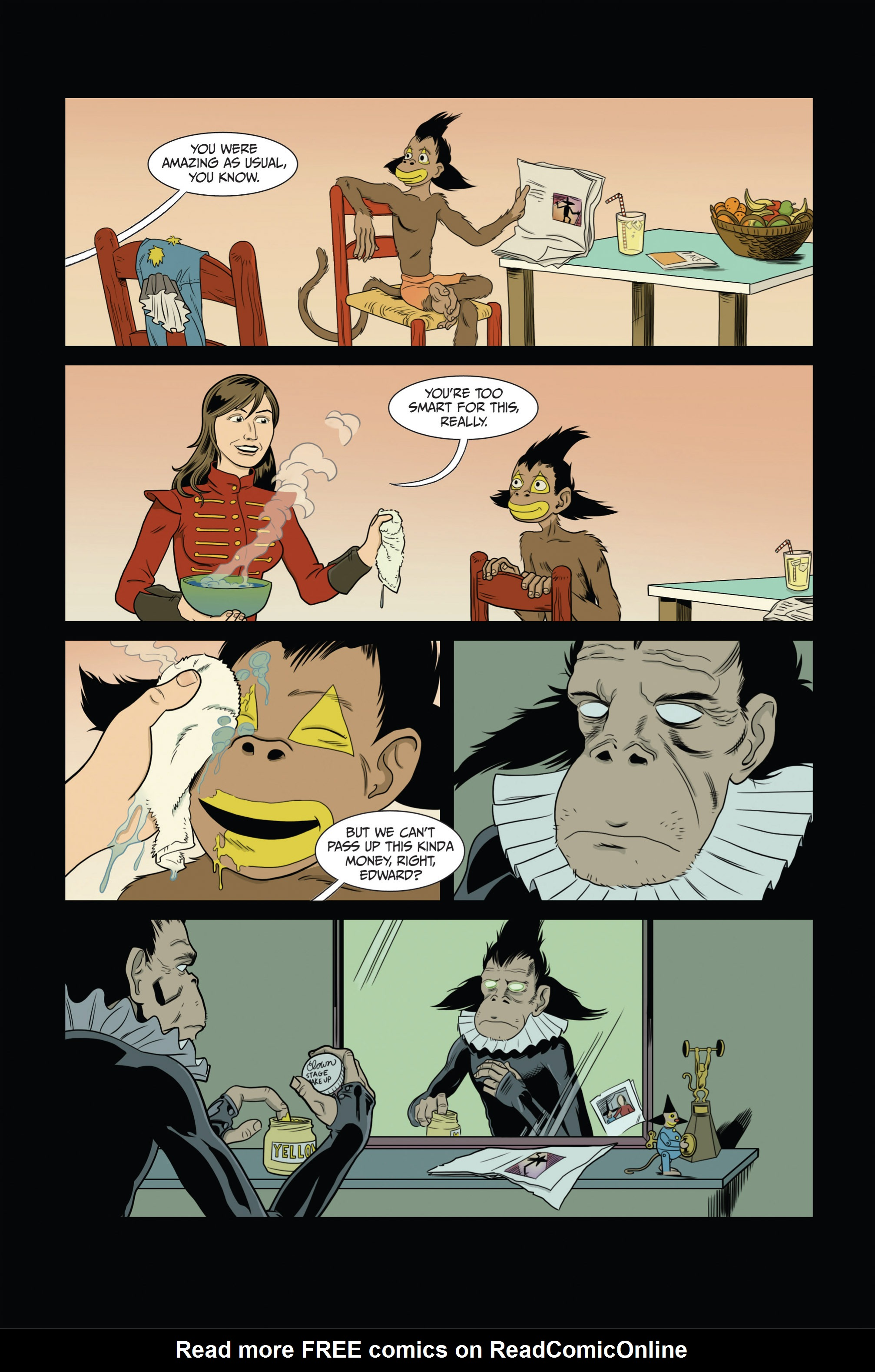 Read online Ehmm Theory: Everything & Small Doses comic -  Issue #3 - 4