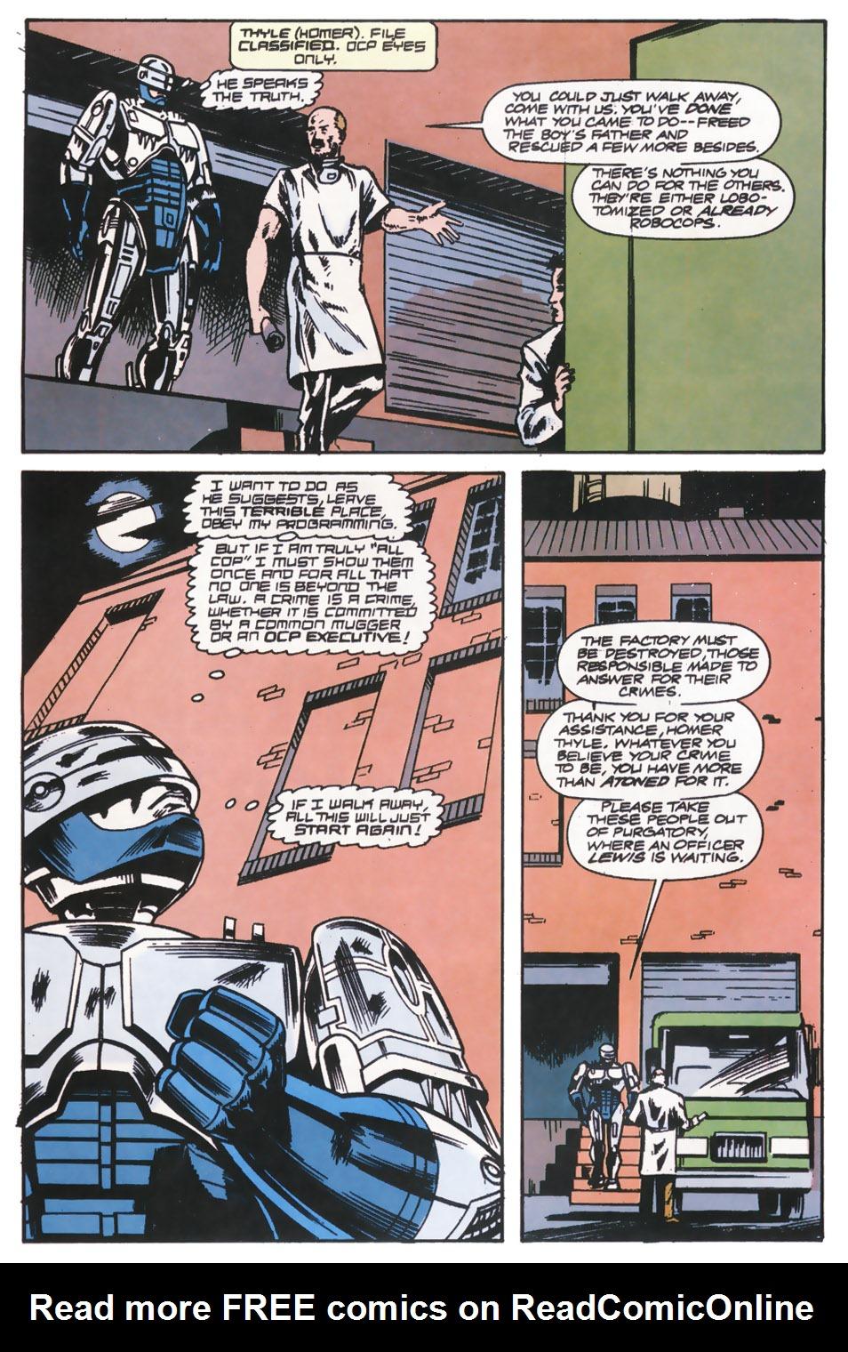 Read online Robocop (1990) comic -  Issue #14 - 5