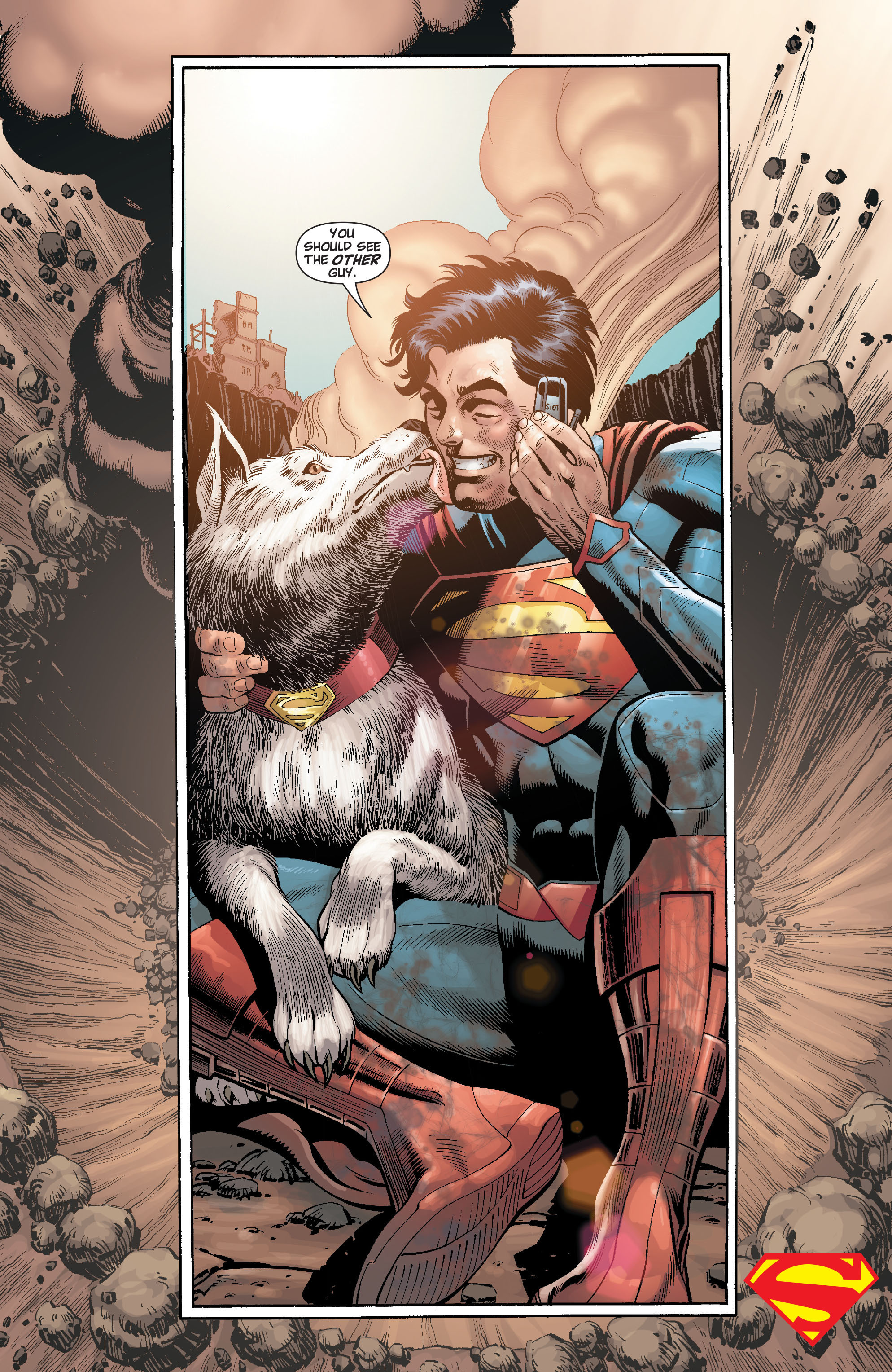 Read online Action Comics (2011) comic -  Issue #18 - 33