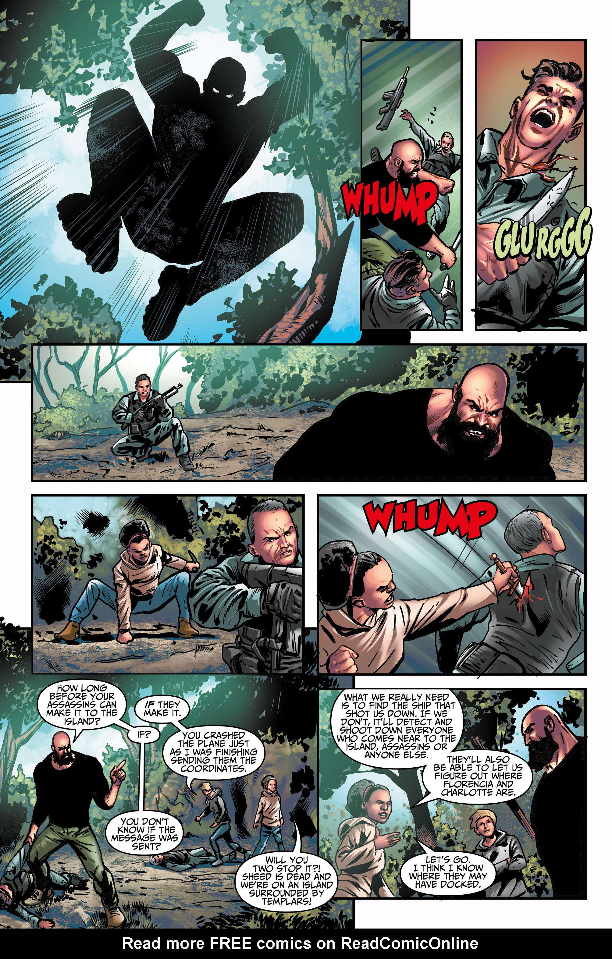 Read online Assassin's Creed (2015) comic -  Issue #14 - 11
