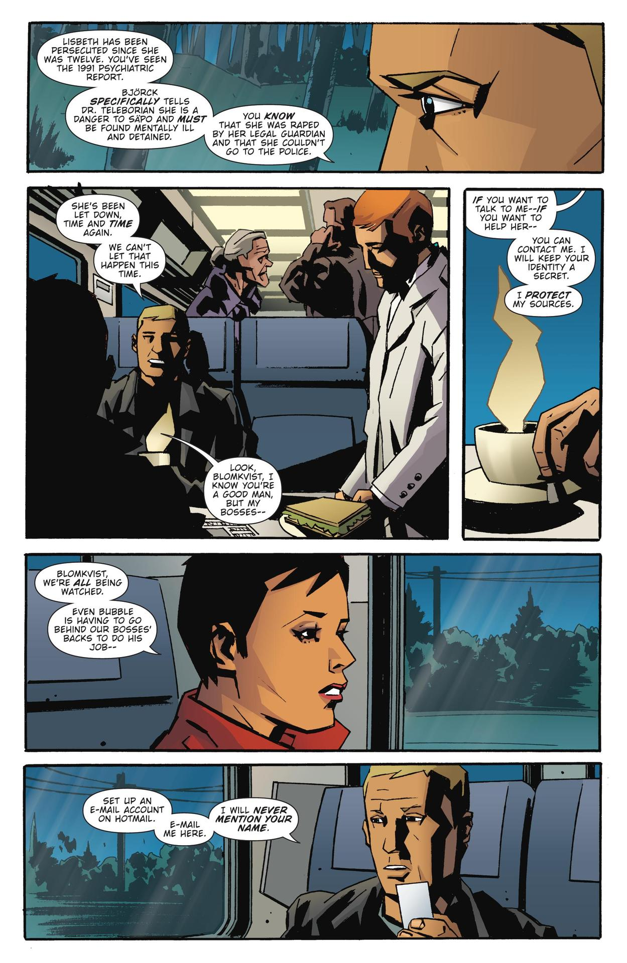 Read online The Girl Who Kicked The Hornet's Nest comic -  Issue # TPB - 42