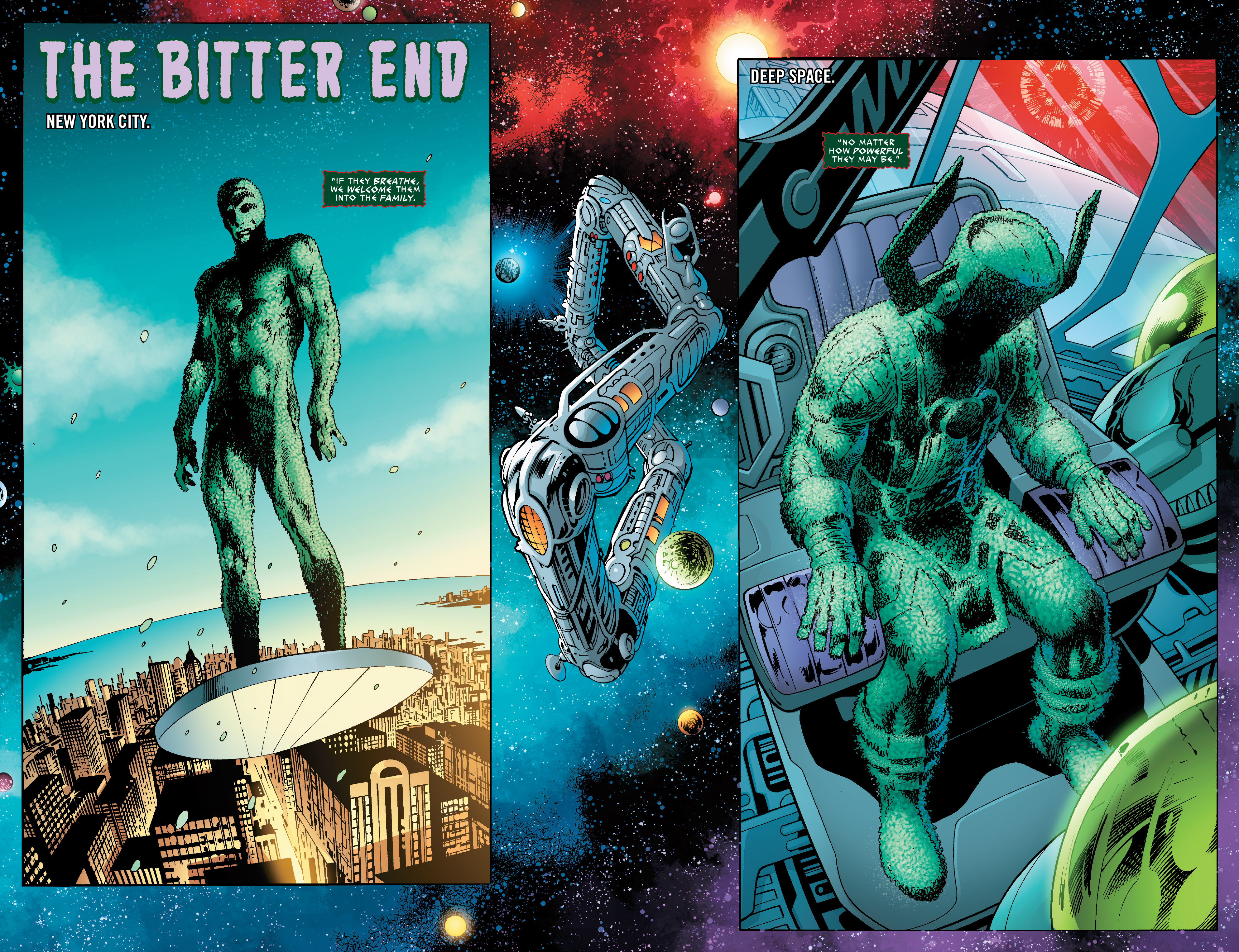 Read online Guardians of the Galaxy: Mother Entropy comic -  Issue #5 - 3
