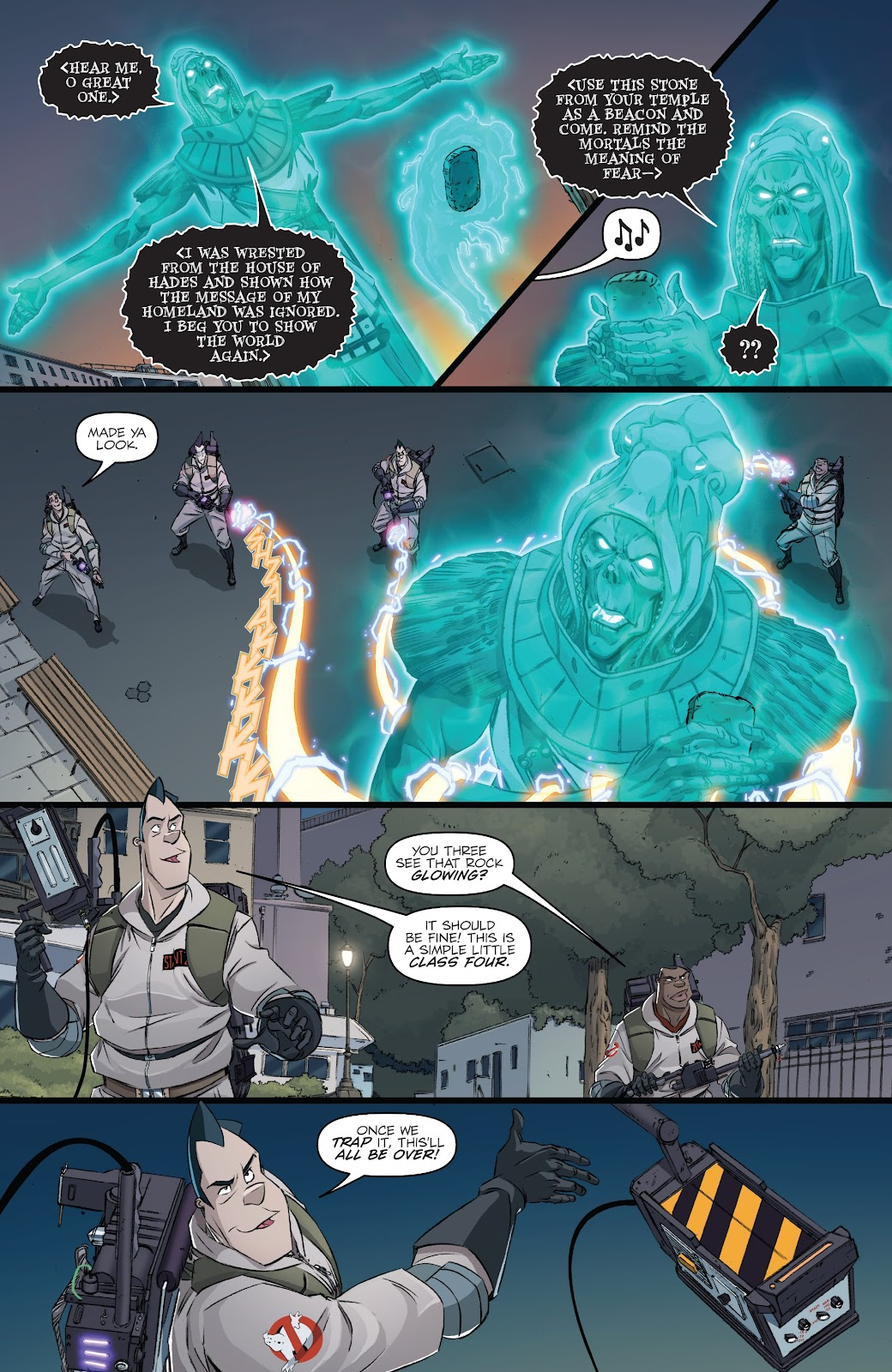Read online Ghostbusters 35th Anniversary: Ghostbusters comic -  Issue # Full - 20