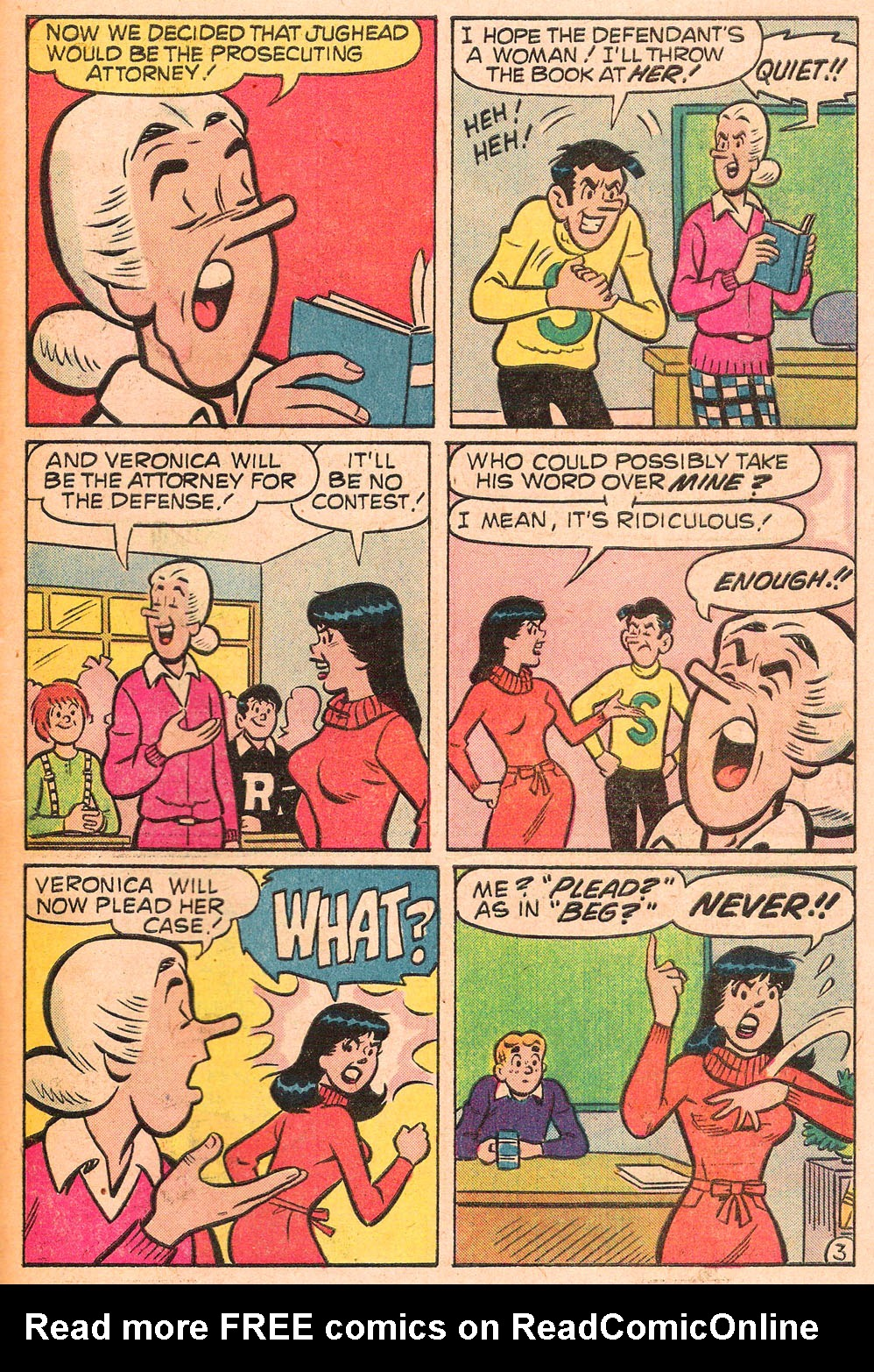 Read online Archie's Girls Betty and Veronica comic -  Issue #271 - 31