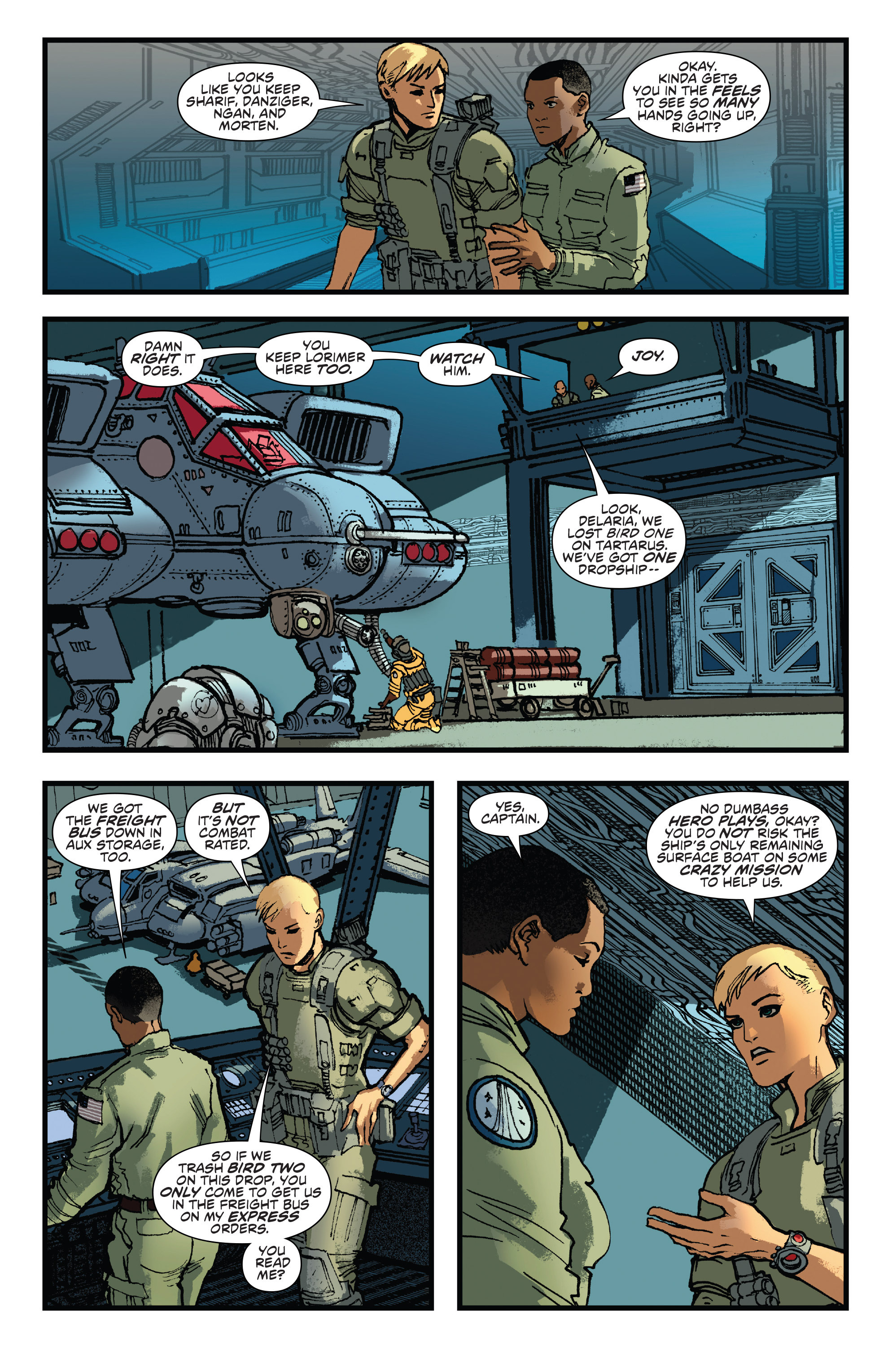 Read online Aliens: Life And Death comic -  Issue #2 - 13