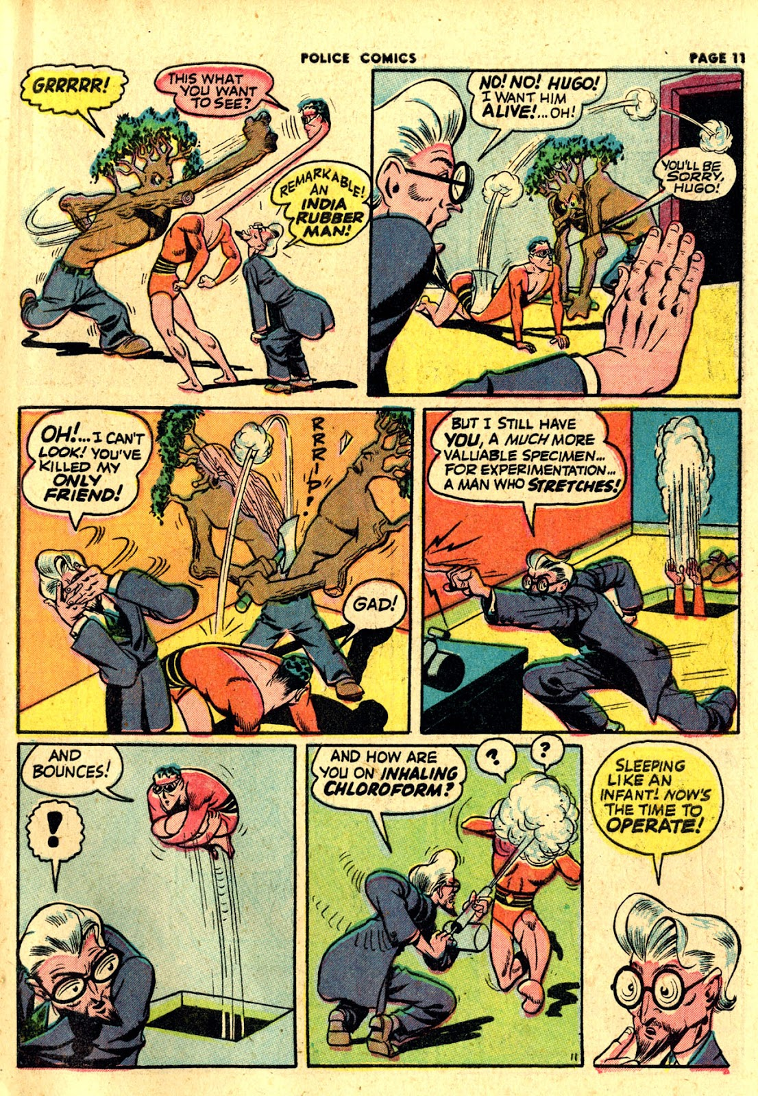 Police Comics issue 19 - Page 13