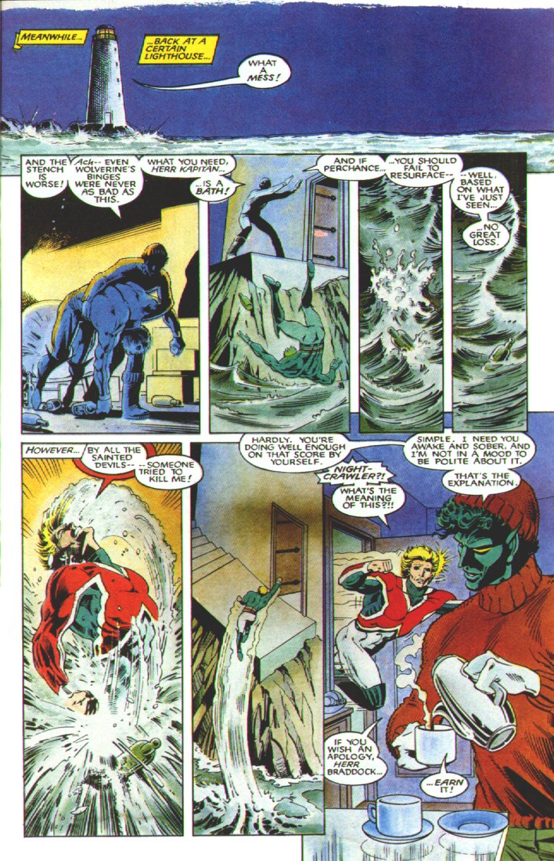 Read online Excalibur: The Sword is Drawn comic -  Issue # Full - 32