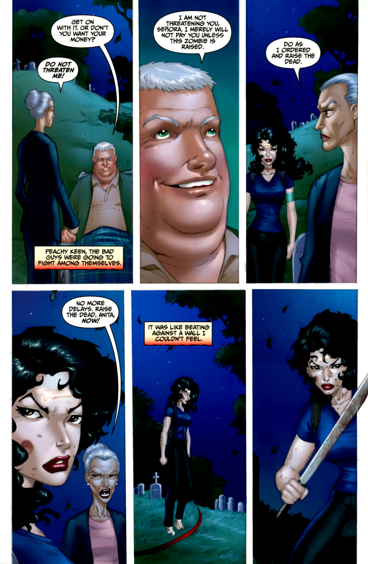Read online Anita Blake: The Laughing Corpse - Executioner comic -  Issue #4 - 31