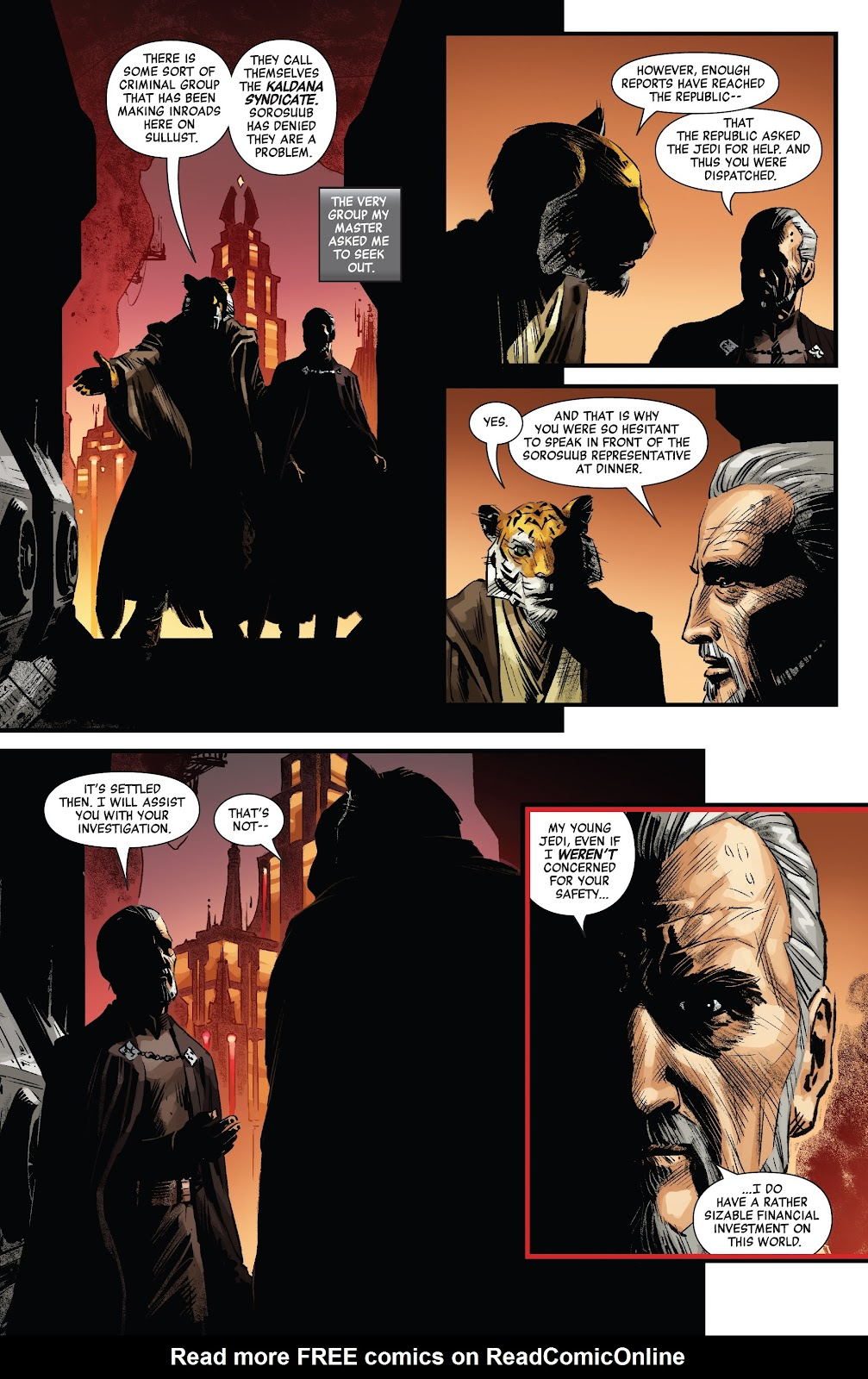 Read online Star Wars: Age of Republic - Count Dooku comic -  Issue # Full - 14
