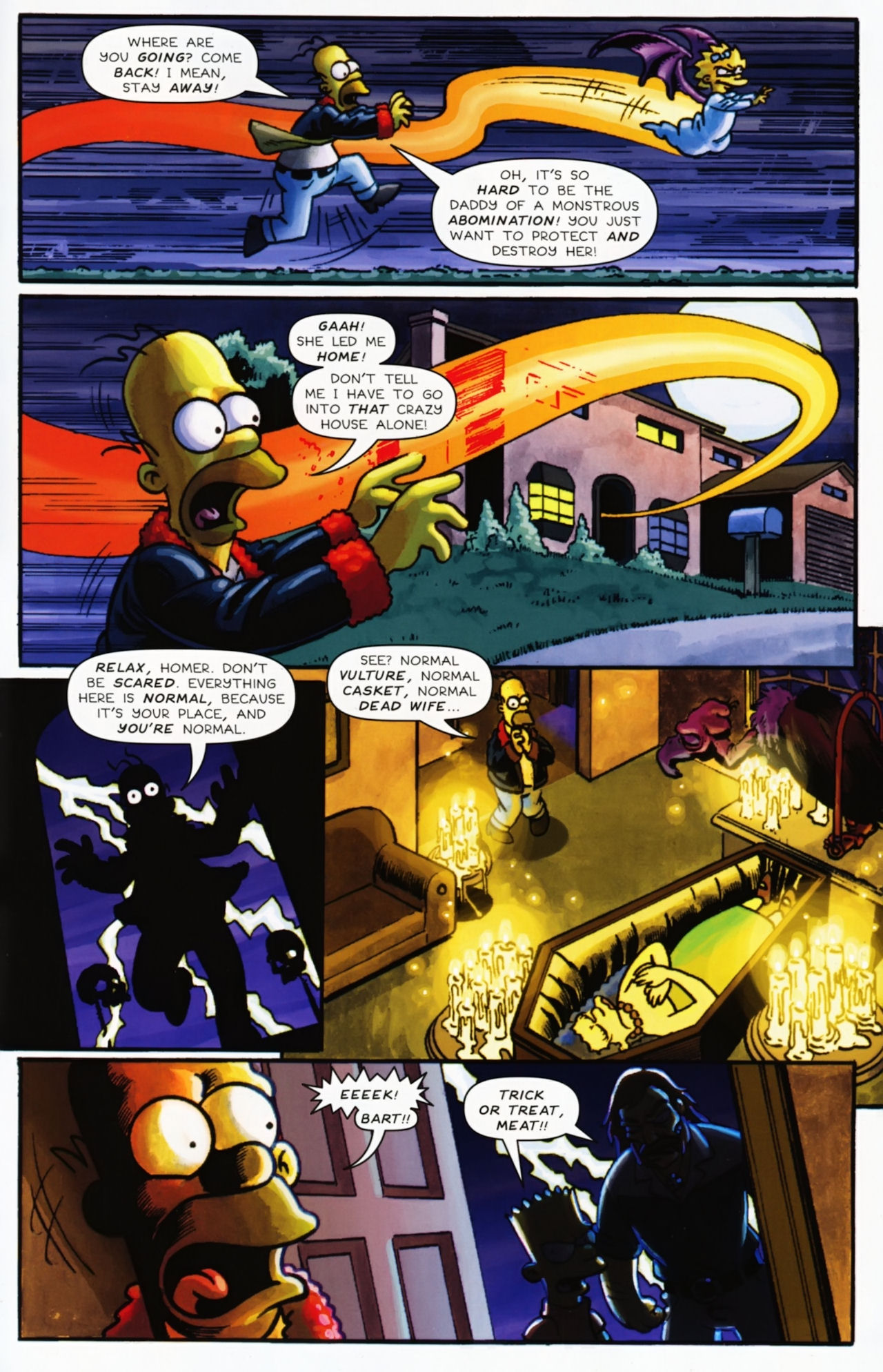 Read online Treehouse of Horror comic -  Issue #16 - 46