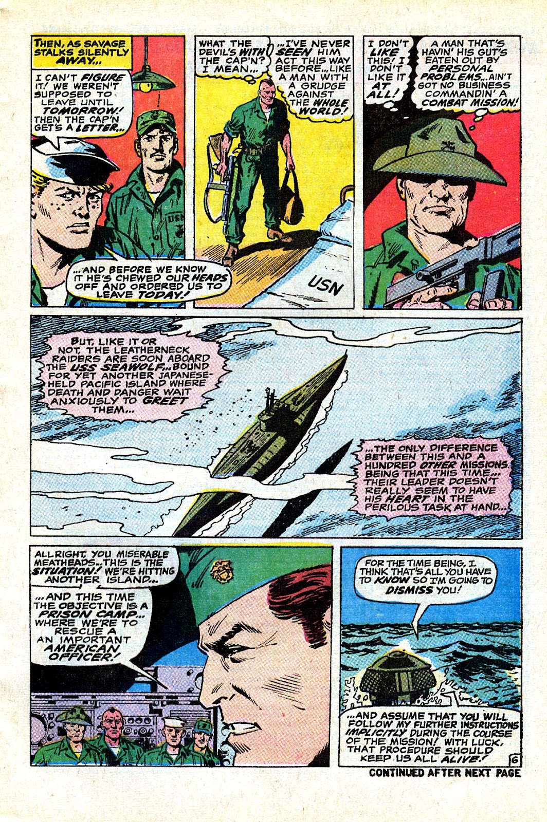 Captain Savage and his Leatherneck Raiders issue 18 - Page 9