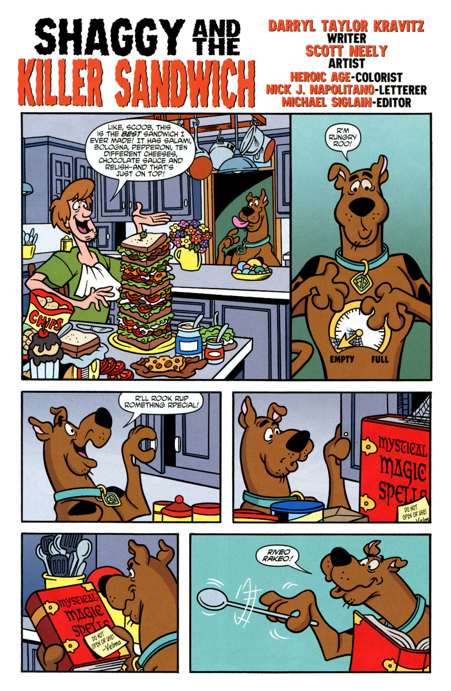 Read online Scooby-Doo: Where Are You? comic -  Issue #16 - 17