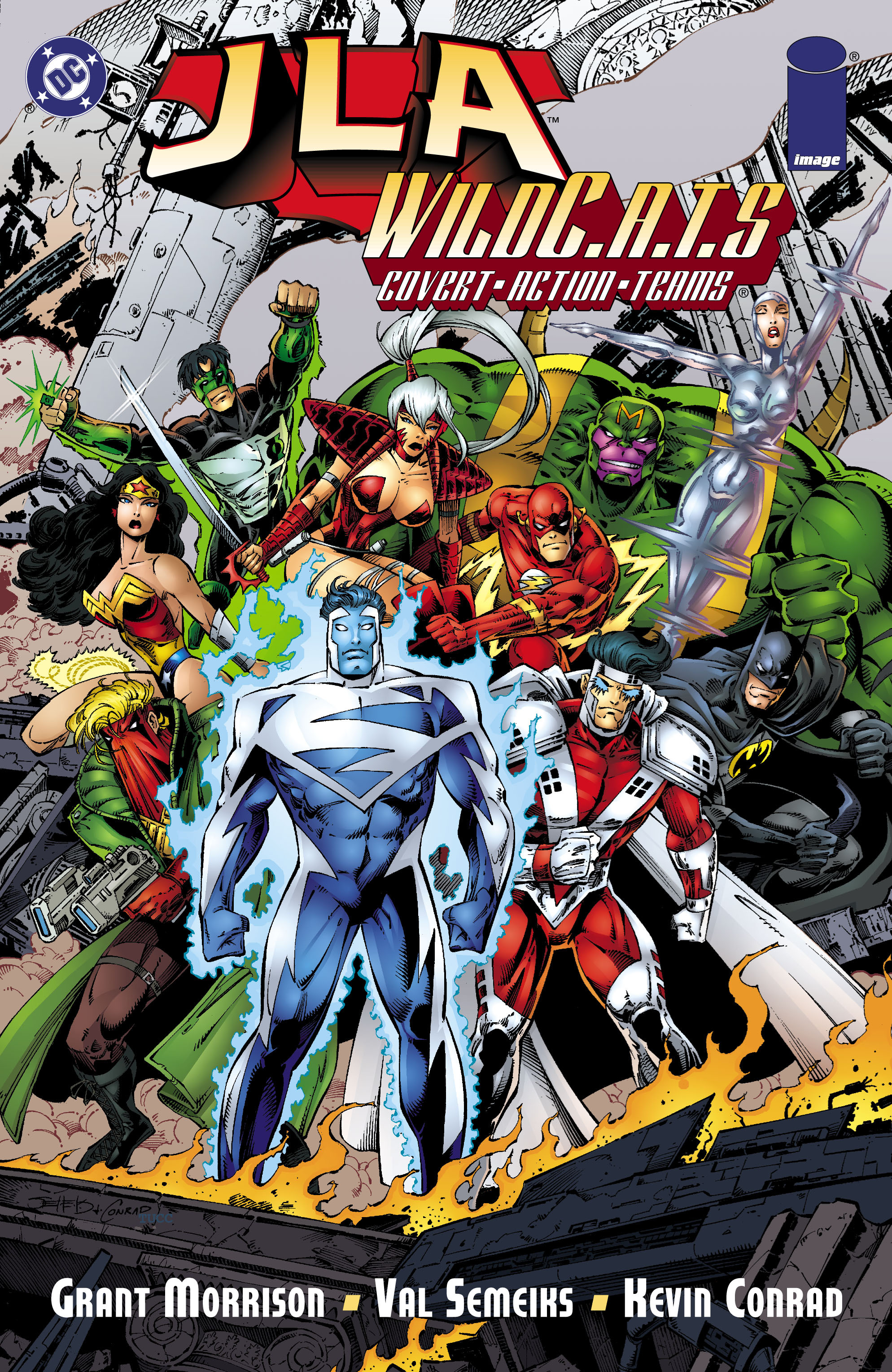 Read online JLA/WildC.A.T.s comic -  Issue # Full - 1