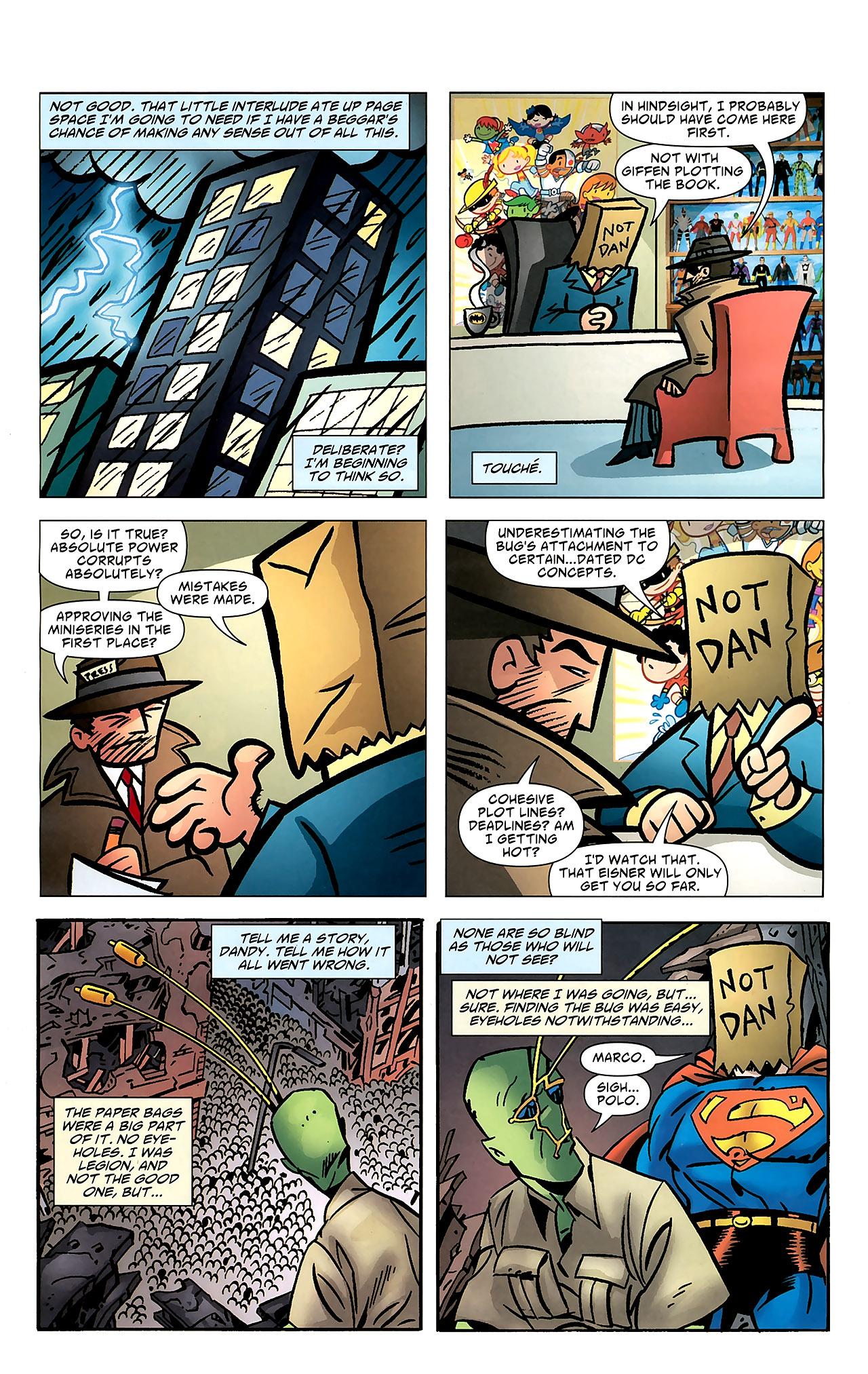 Read online Ambush Bug: Year None comic -  Issue #7 - 21