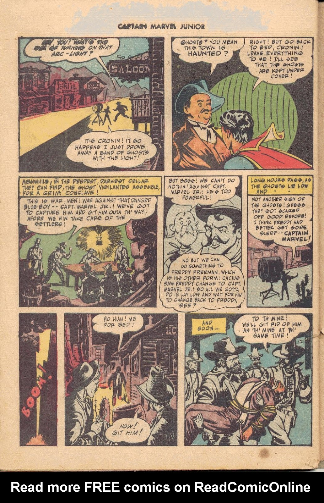 Captain Marvel, Jr. issue 38 - Page 43